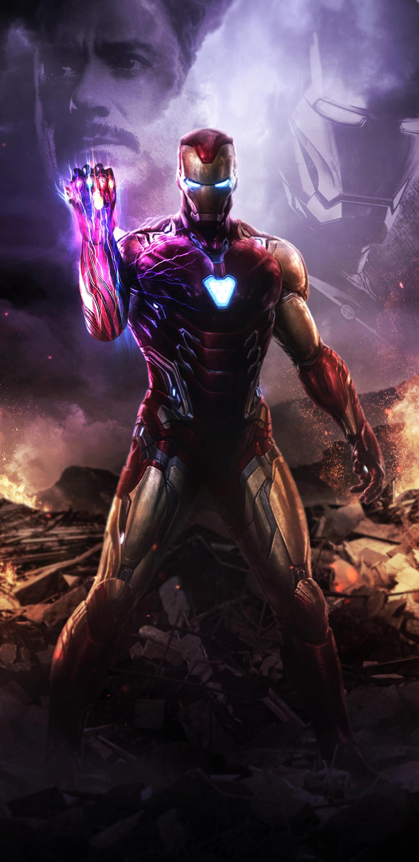 1440x2960 Iron Man Infinity Gauntlet 4k Samsung Galaxy Note