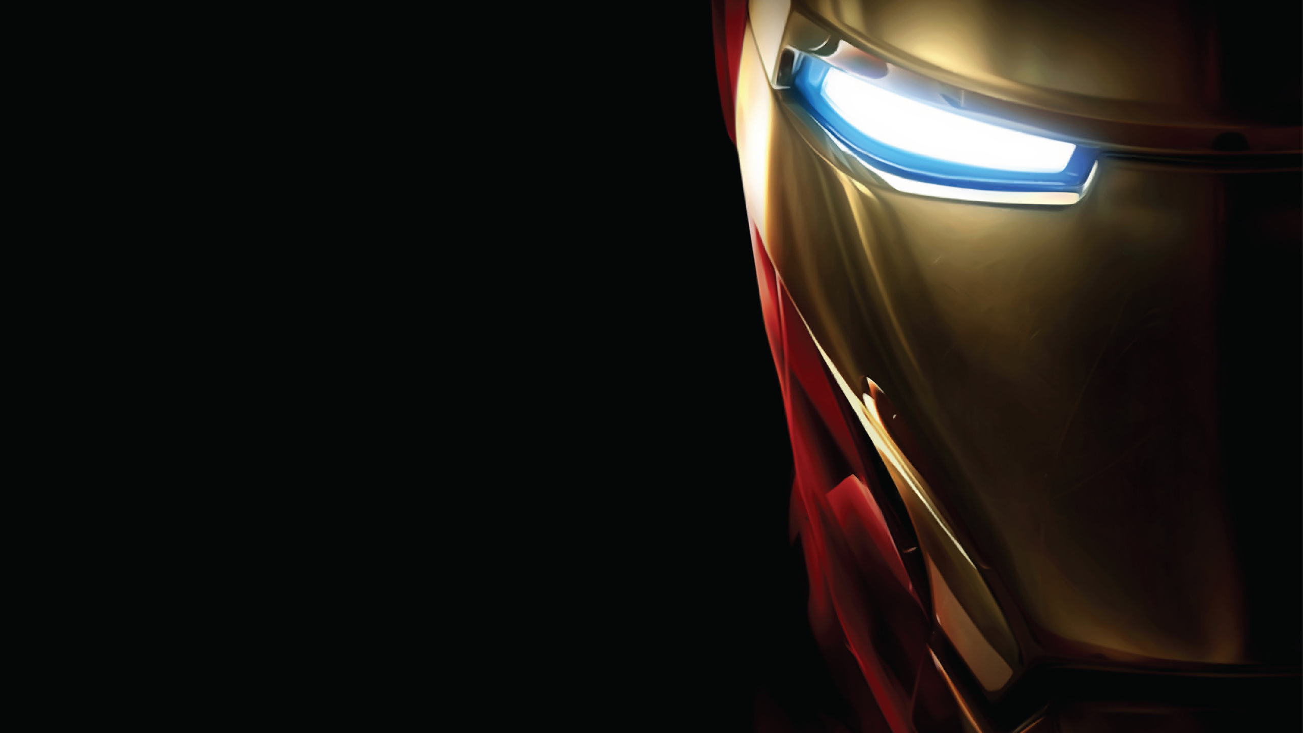 2560x1440 Iron Man Low Poly 4k Art 1440P Resolution HD 4k ...