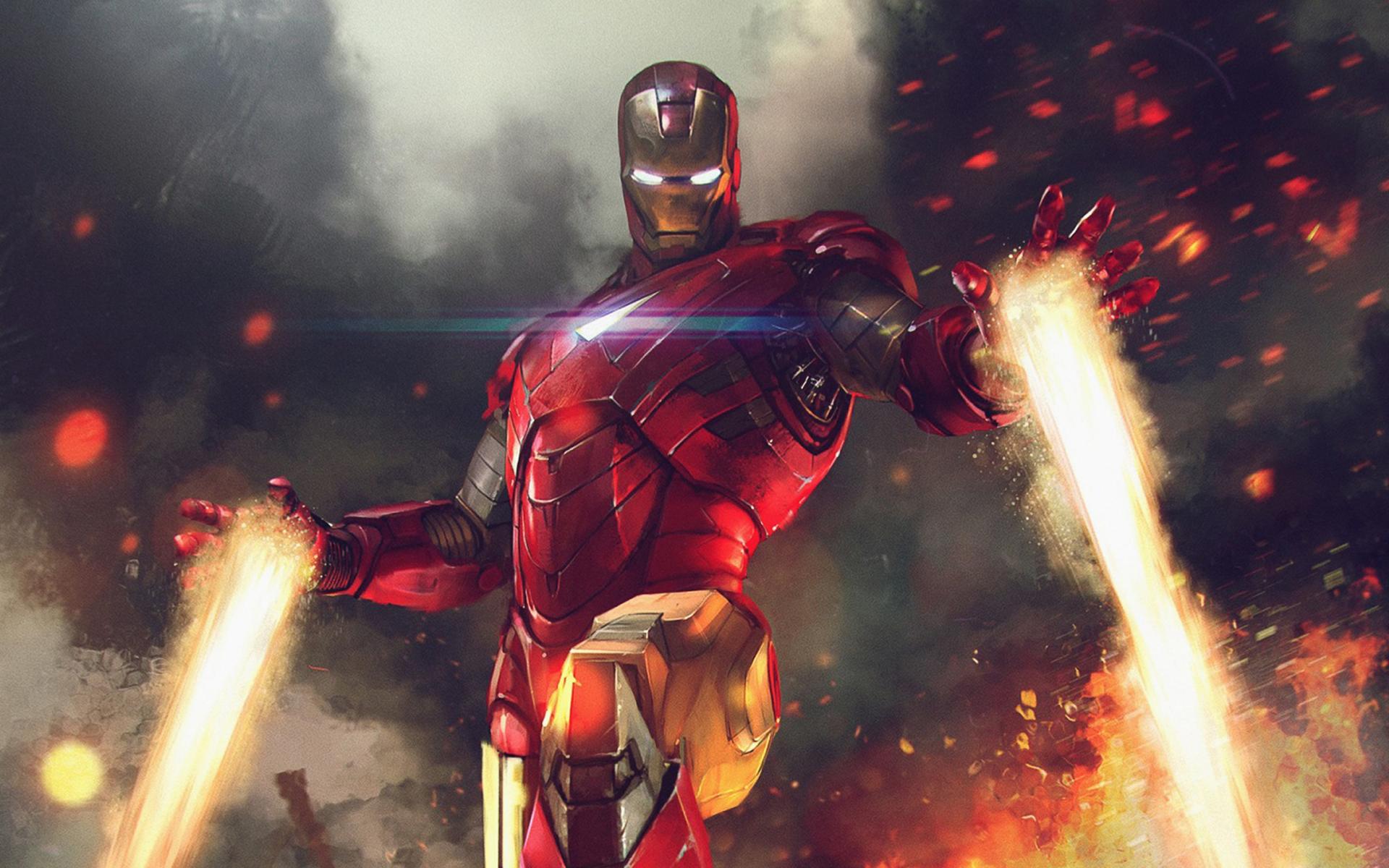 Iron Man Wallpaper 34447: 1920x1200 Iron Man Marvel War Of Heroes 1080P Resolution