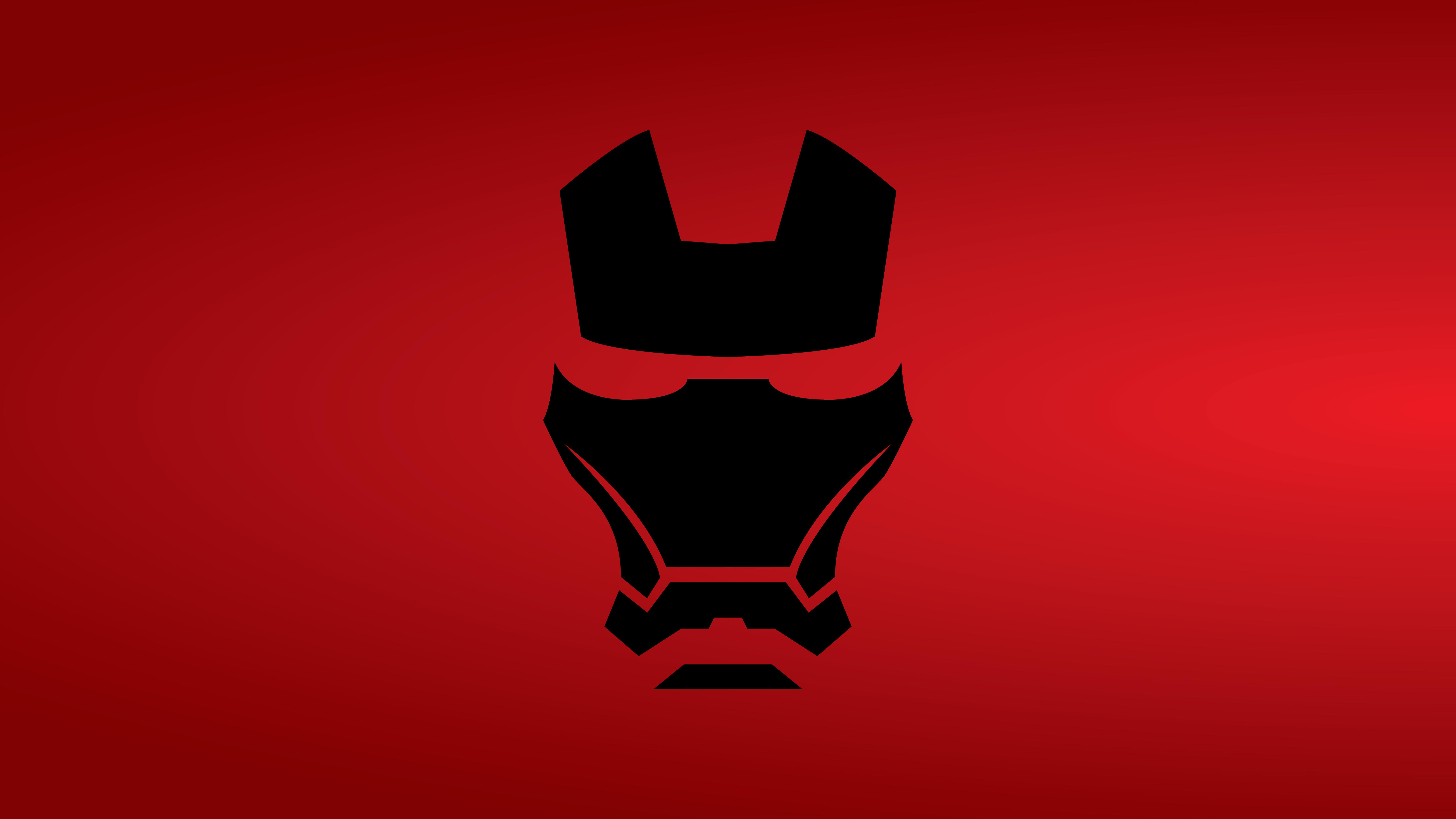 Iron Man Mask Minimalist 8k 8k HD 4k