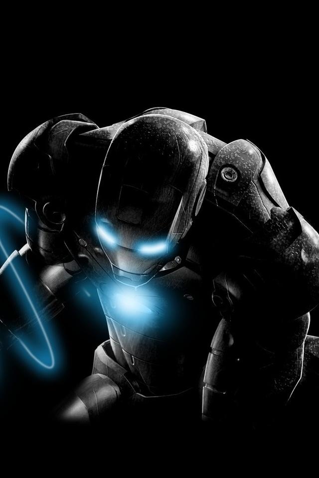 Iron Man Movie Artwork 8k
