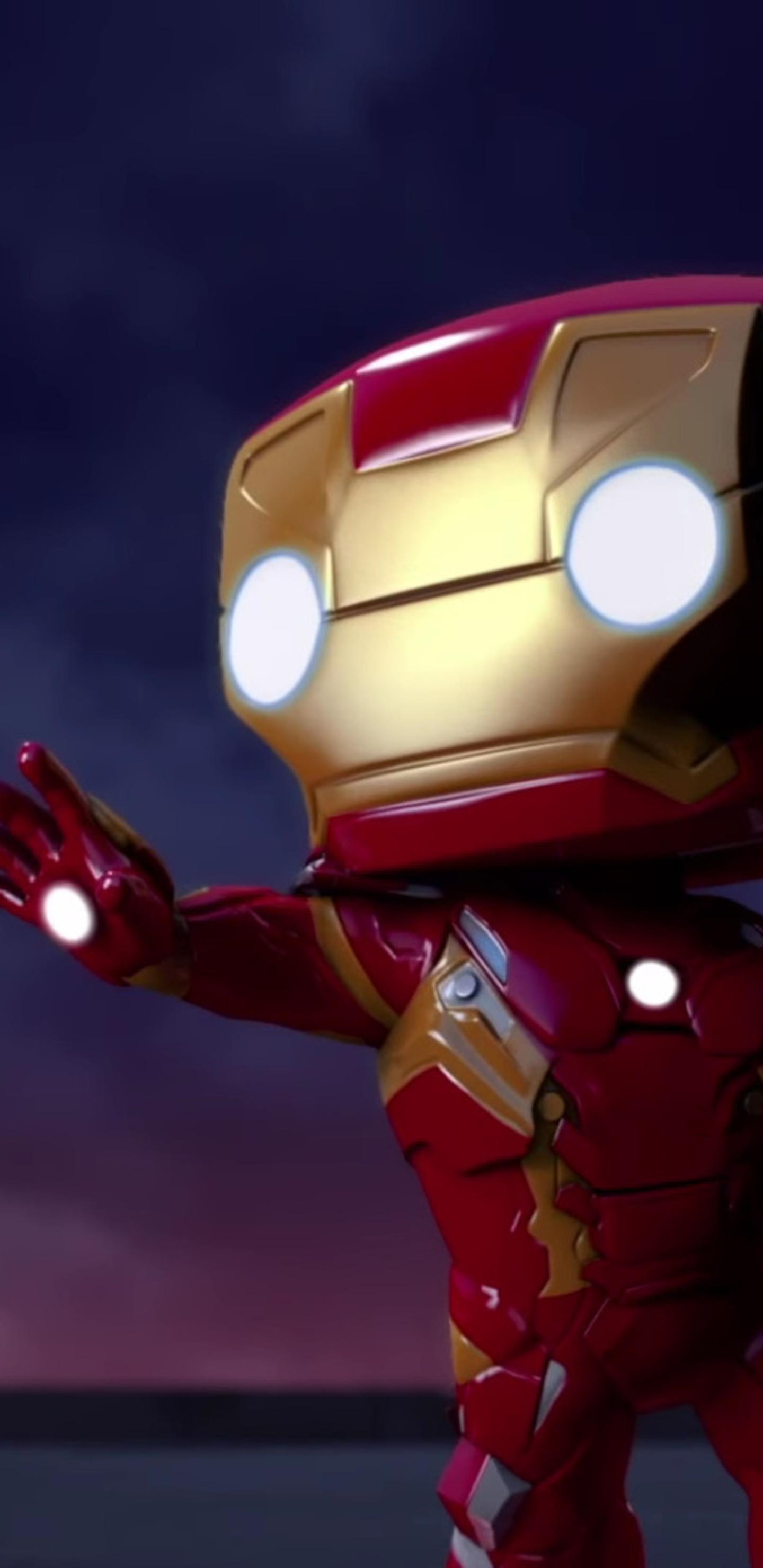 1440x2960 Iron Man Spellbound Animated Movie Samsung Galaxy