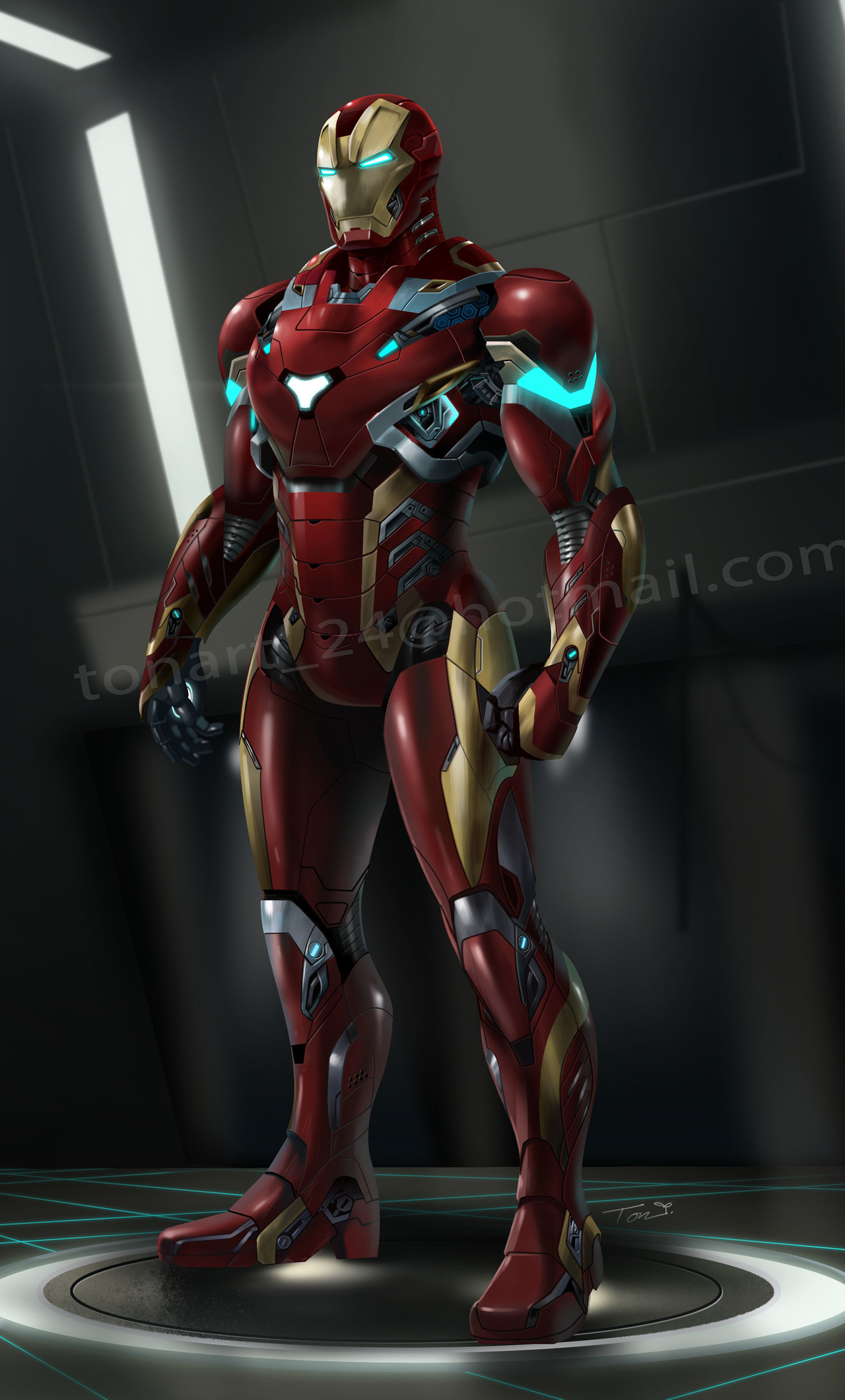 1280x2120 Iron Man Suit Artwork Iphone 6 Hd 4k Wallpapers Images