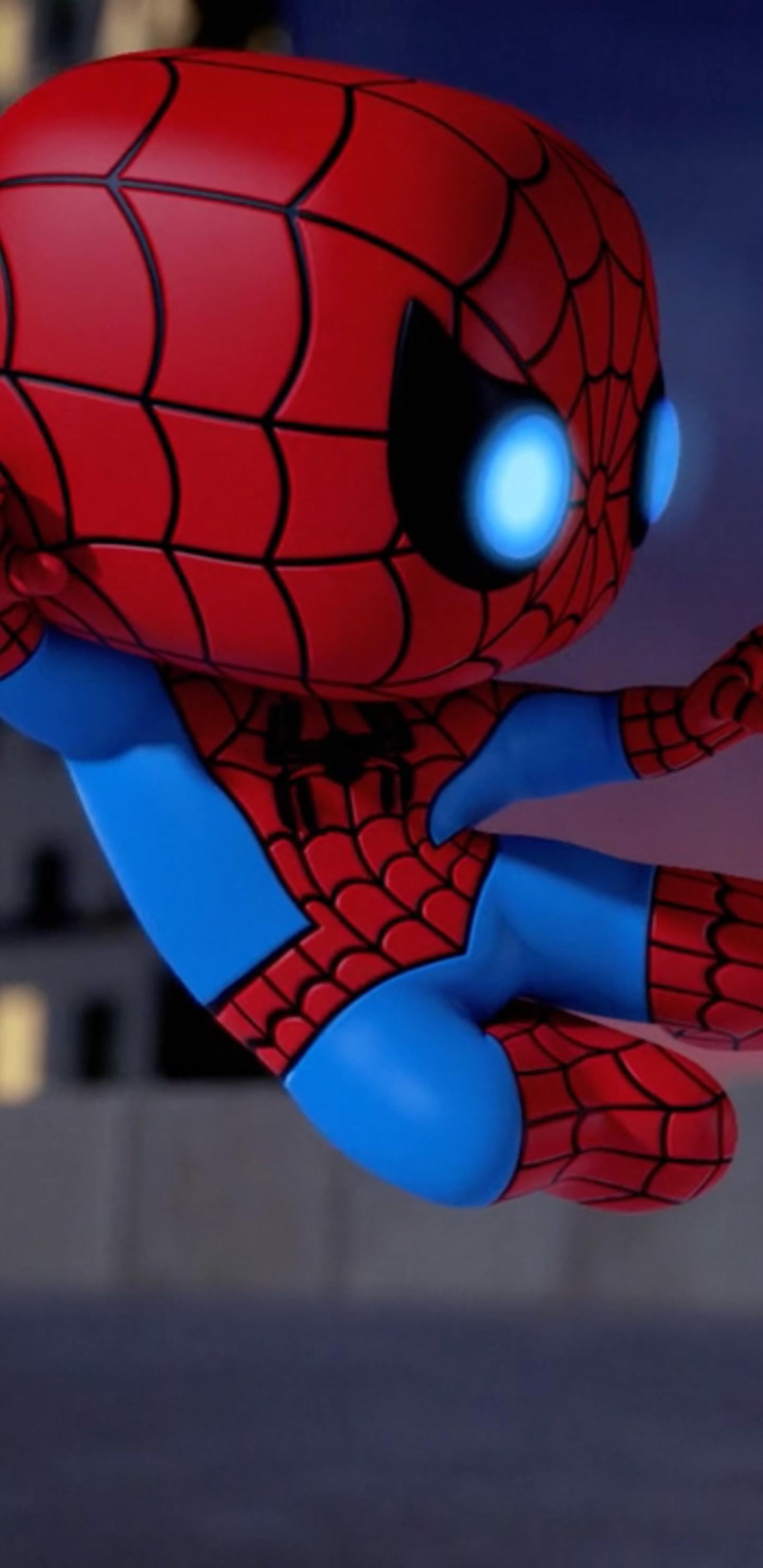 1440x2960 Iron Man Vs Spiderman Spellbound Animated Movie