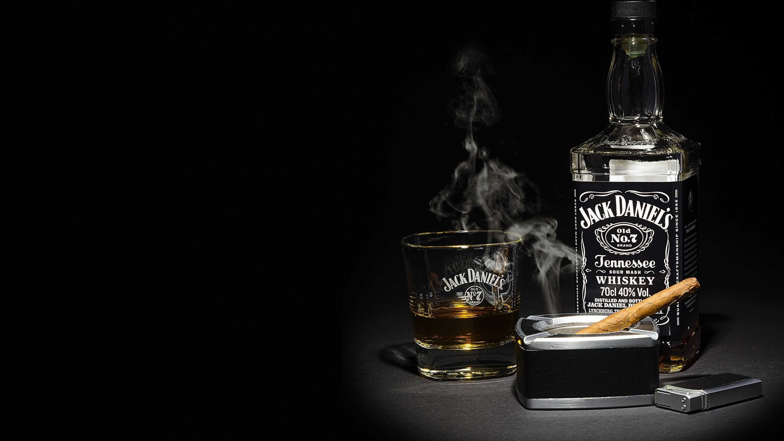 2560x1440 Jack Daniels Whiskey 1440P Resolution HD 4k ...