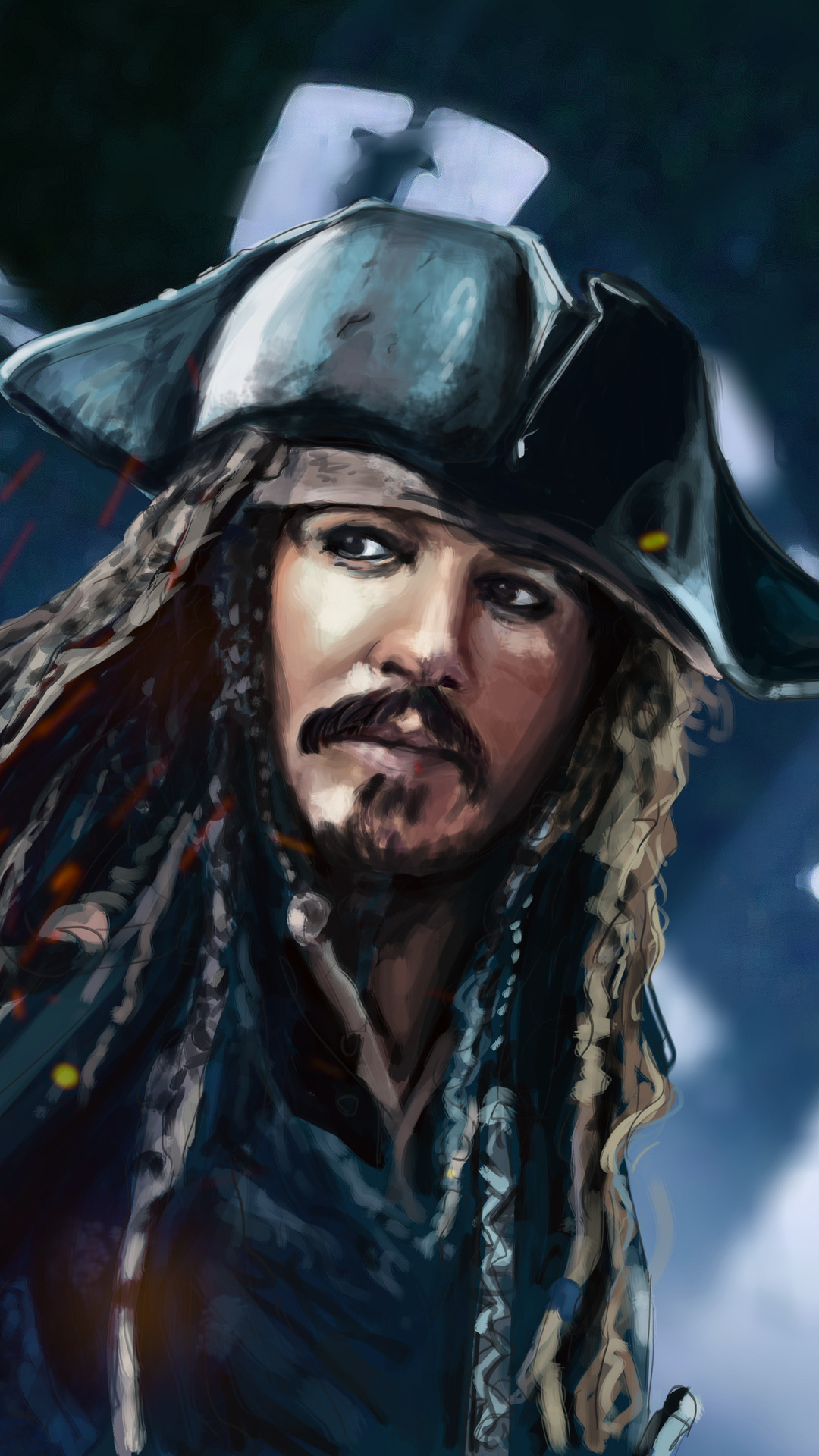 Jack Sparrow 5k Artwork Iphone 7