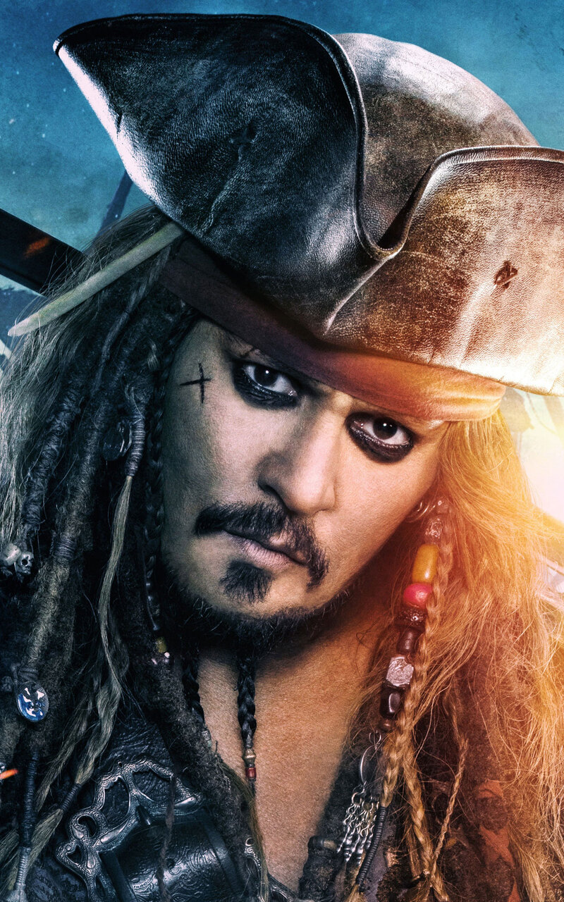 800x1280 jack sparrow in pirates of the caribbean dead men tell no