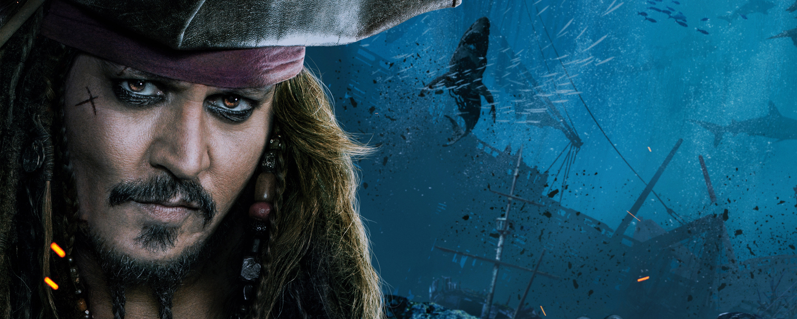 2560x1024 Jack Sparrow Pirates Of The Caribbean Dead Men Tell No Tales 4k 2560x1024 Resolution Hd 4k Wallpapers Images Backgrounds Photos And Pictures