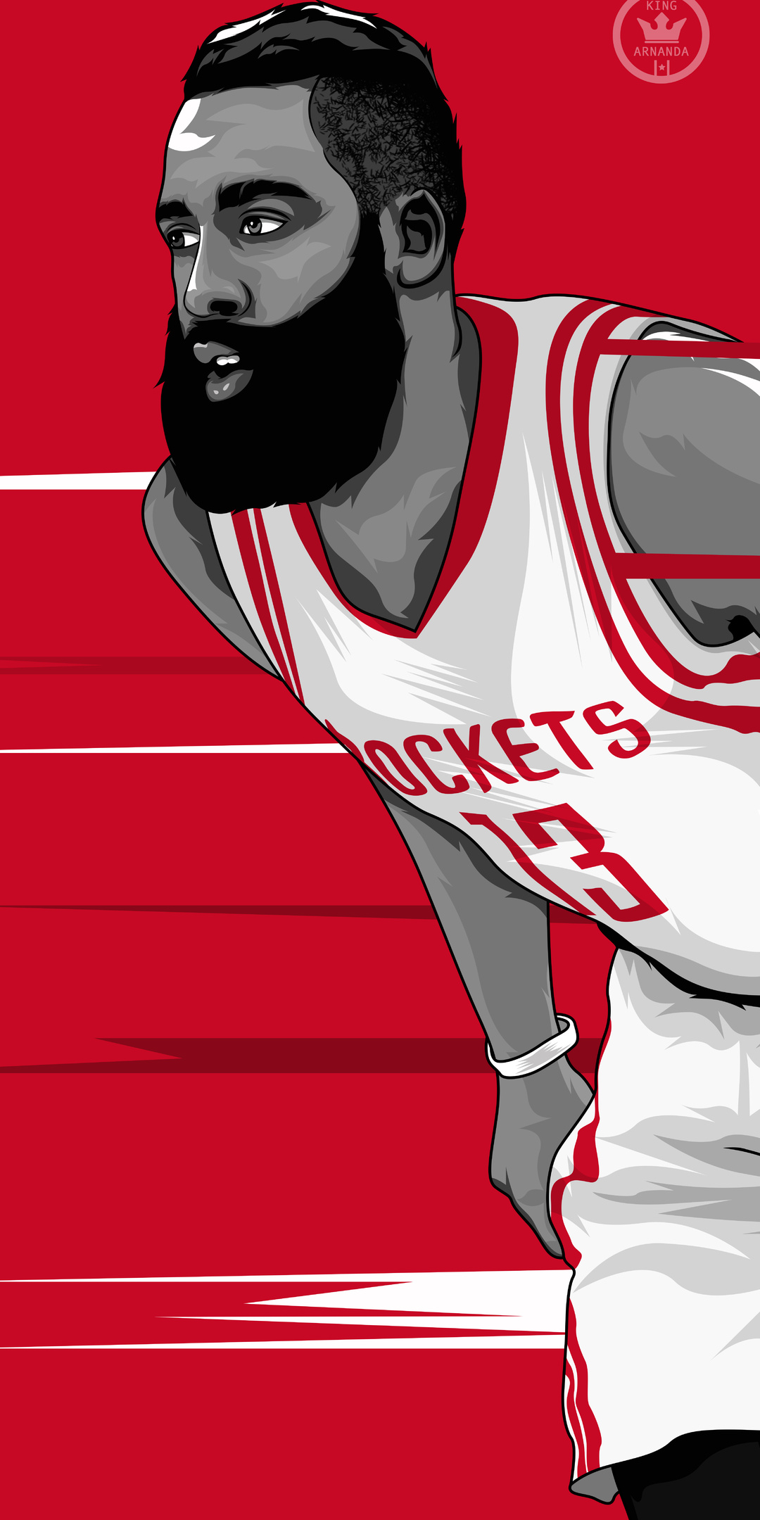 a83176a67f5 1080x2160 James Harden Artwork One Plus 5T