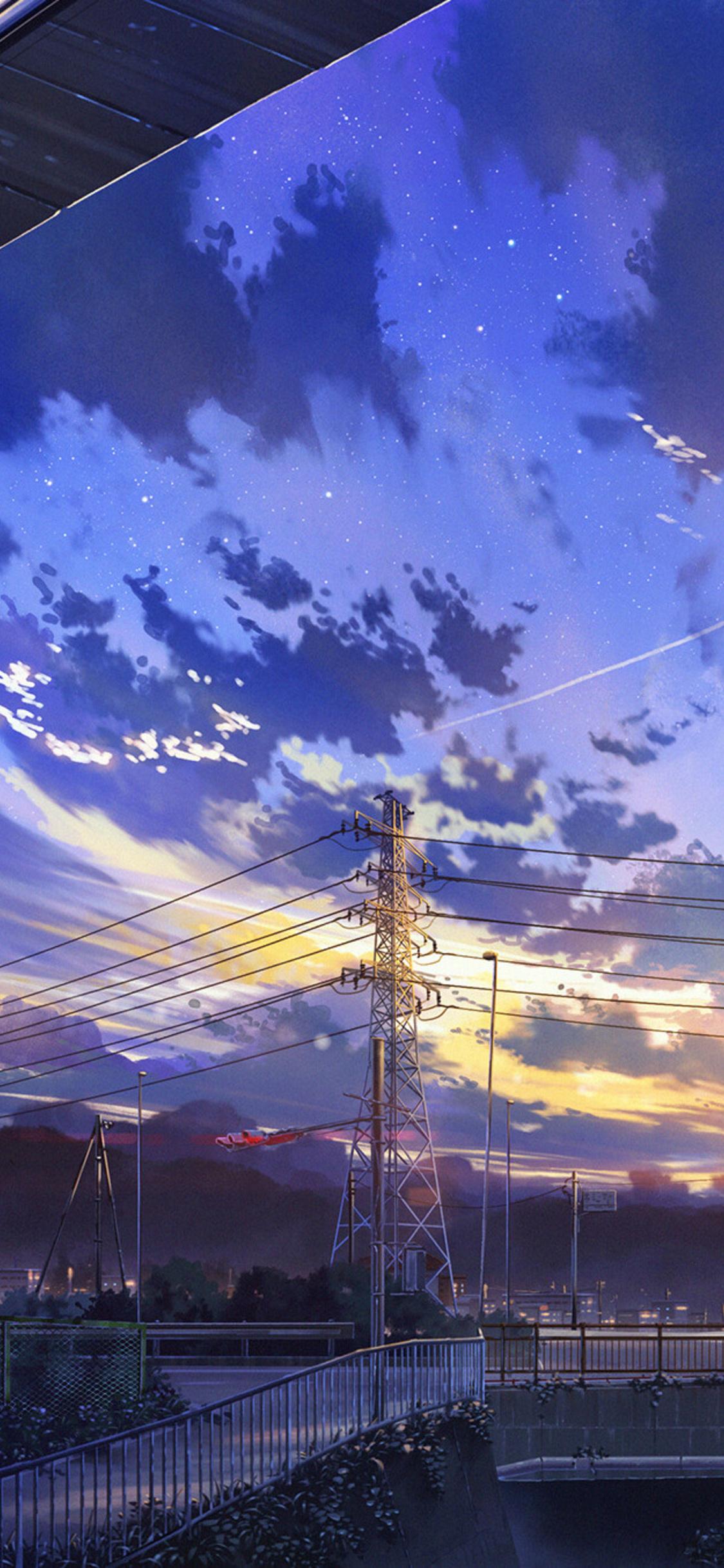 1125x2436 Japan City Digital Art Iphone Xsiphone 10iphone