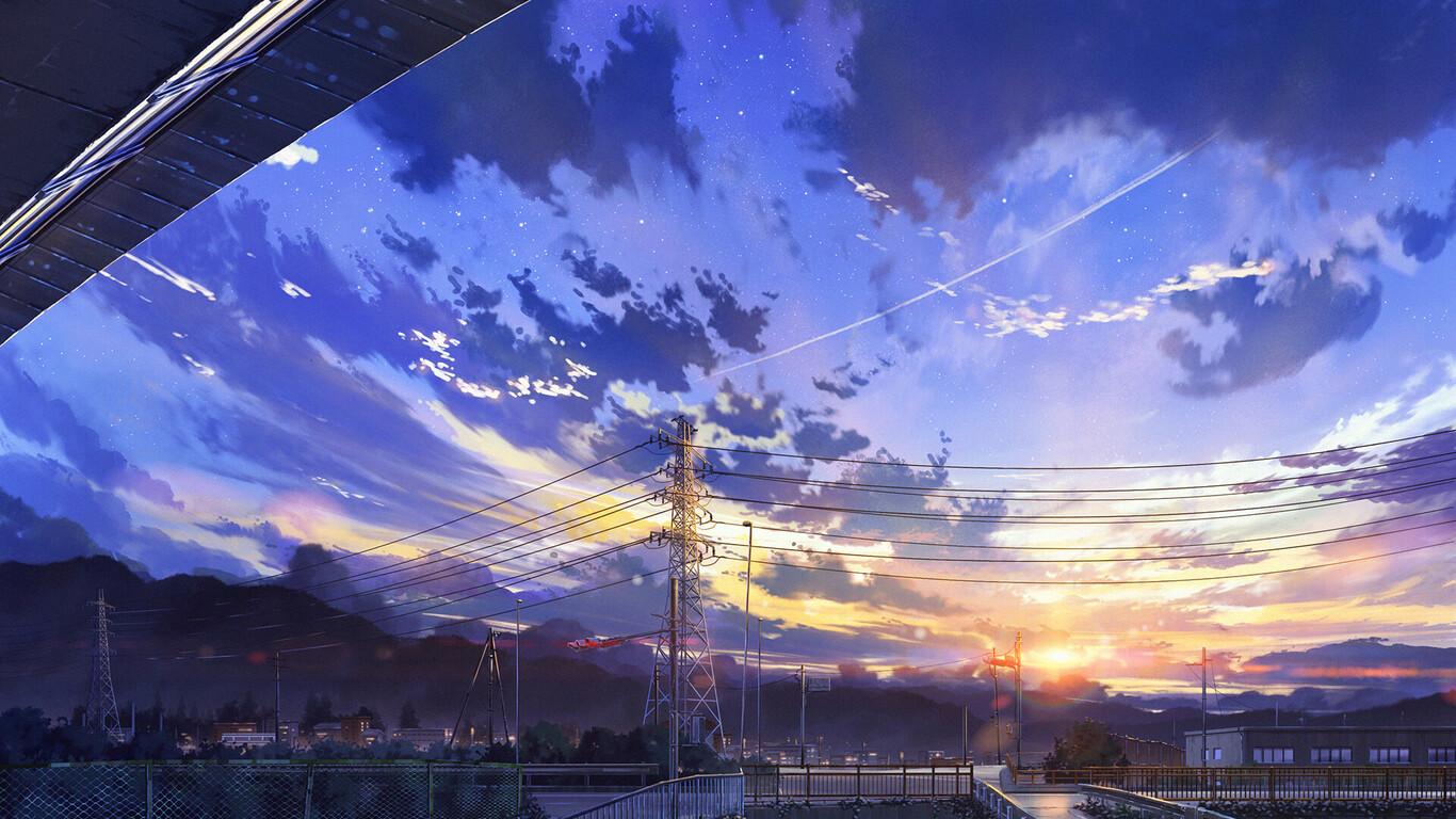 1366x768 Japan City Digital Art 1366x768 Resolution Hd 4k