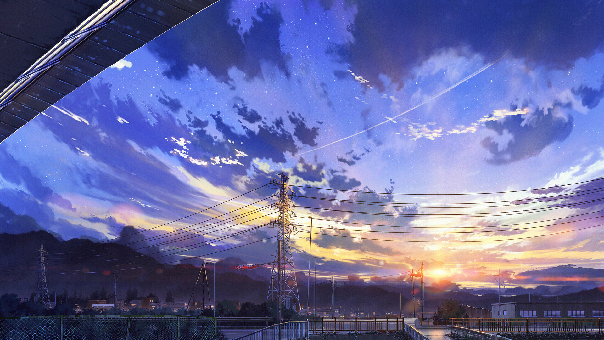 1920x1080 Japan City Digital Art Laptop Full HD 1080P HD ...