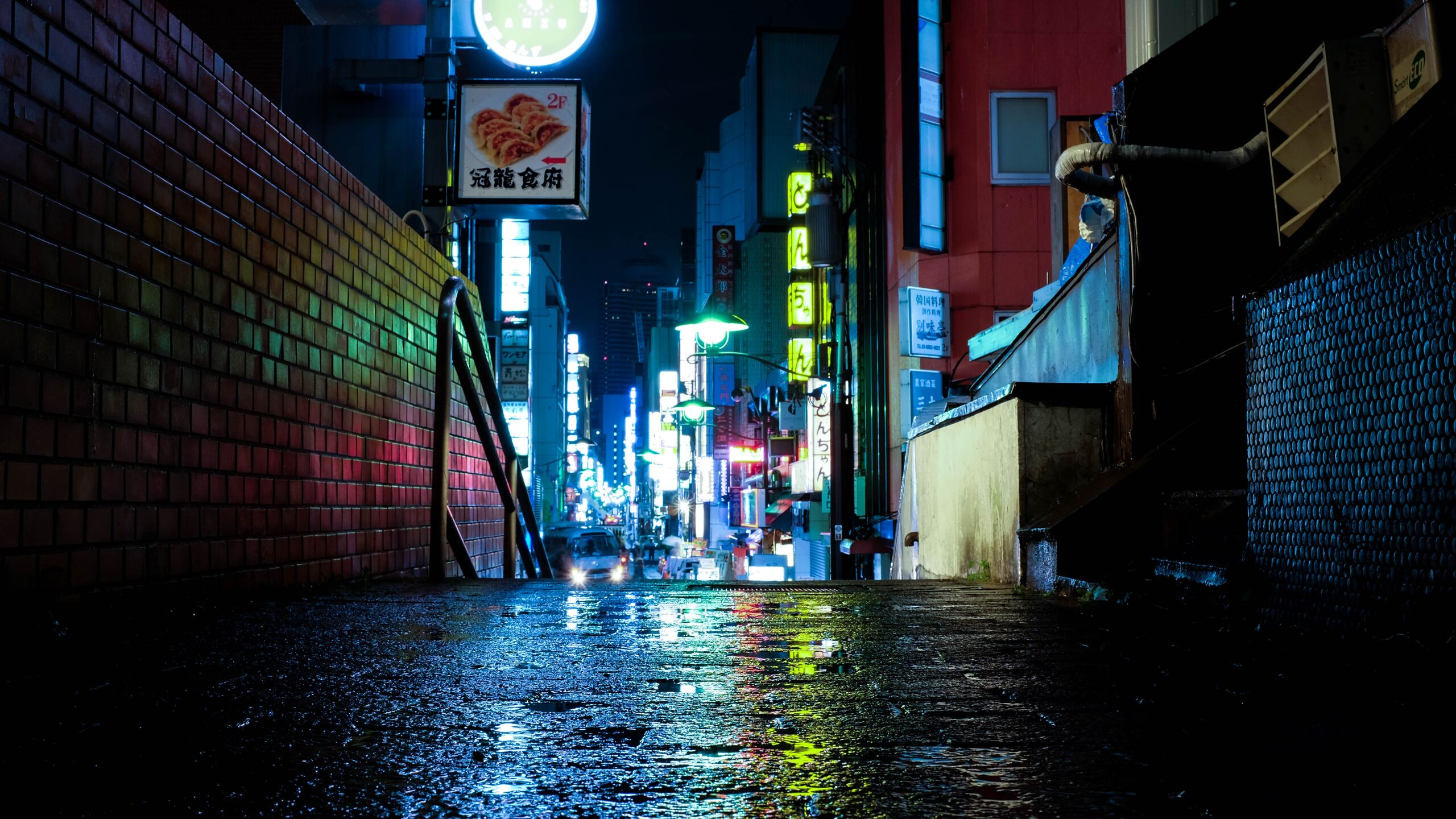 2560x1440 Japan Tokyo Urban Lights Neon 5k 1440p Resolution Hd 4k Wallpapers Images Backgrounds Photos And Pictures