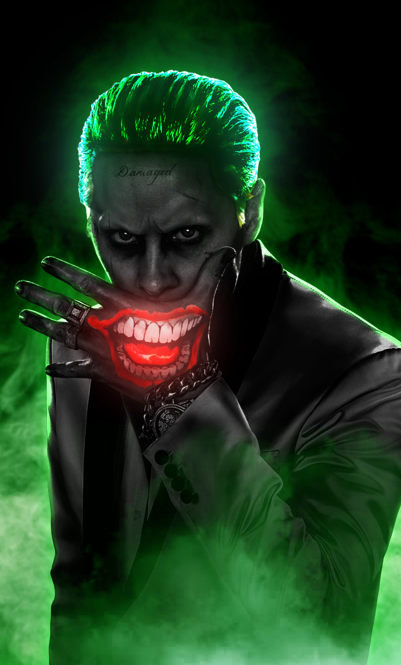 1280x2120 Jared Leto Joker 4k iPhone 6+ HD 4k Wallpapers, Images, Backgrounds, Photos and Pictures