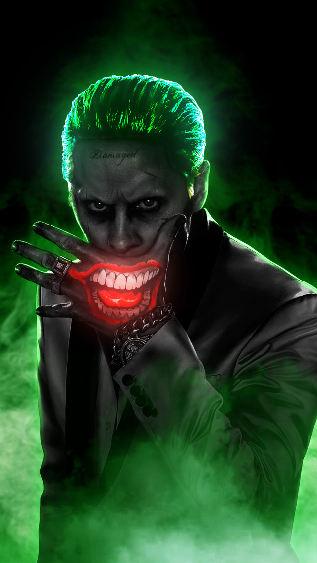 640x1136 Jared Leto Joker 4k Iphone 55c5sse Ipod Touch