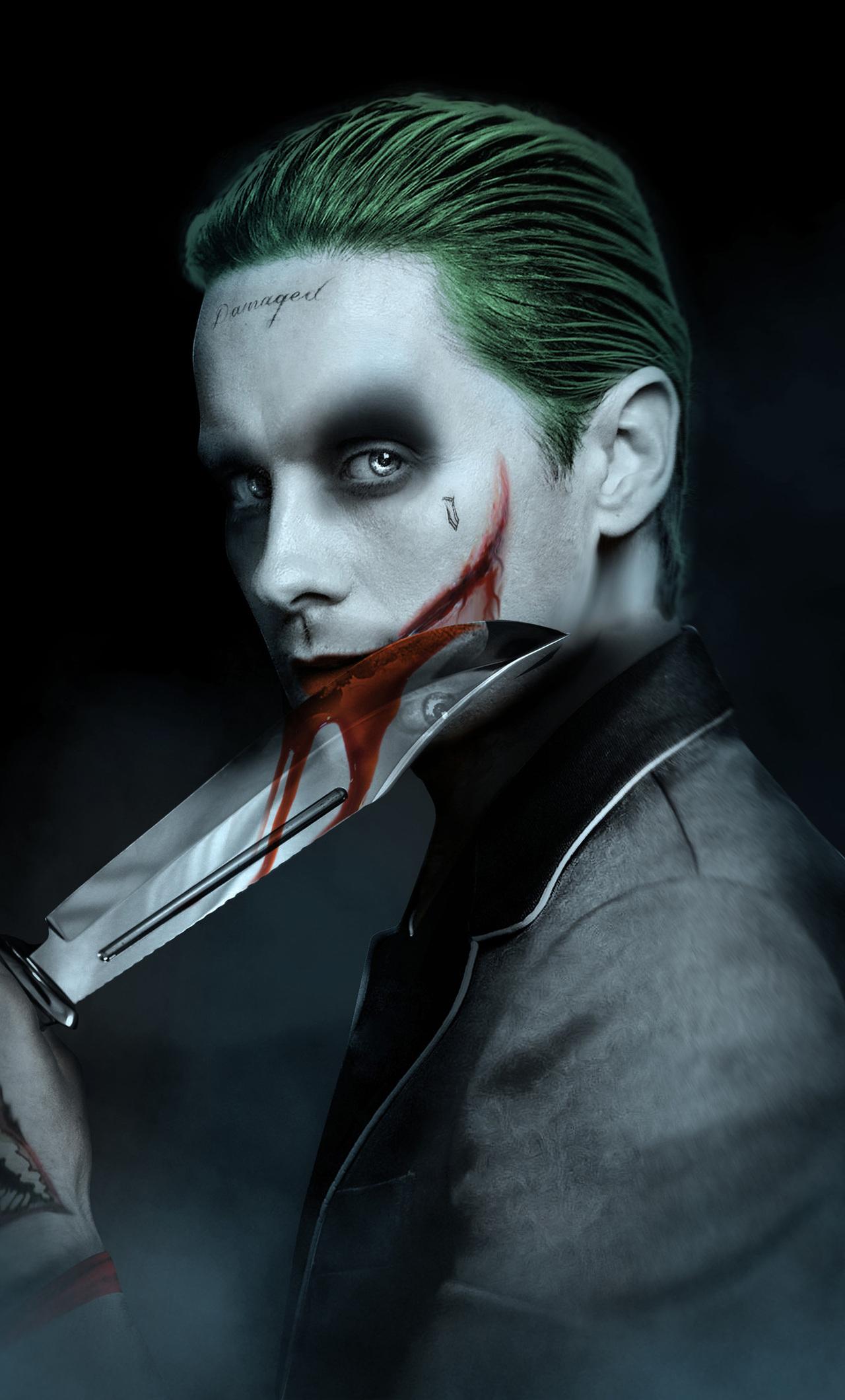1280x2120 Jared Leto Joker Artwork iPhone 6+ HD 4k ...
