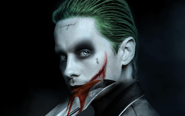 2880x1800 Jared Leto Joker Artwork Macbook Pro Retina HD