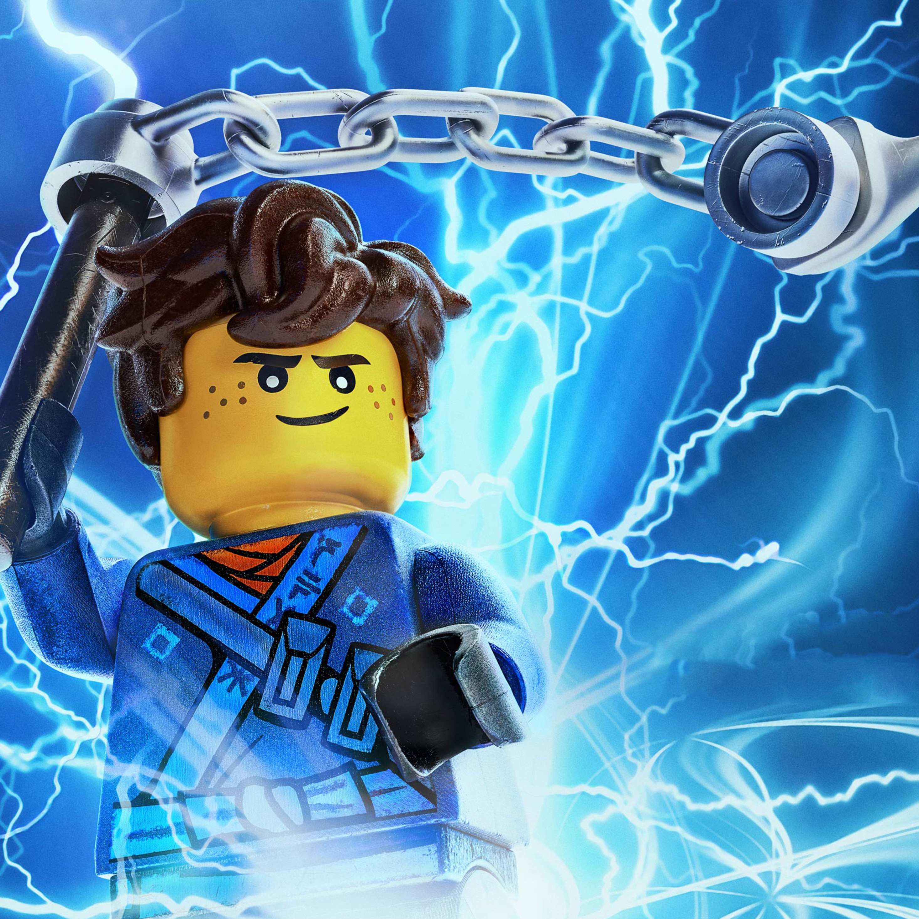 2932x2932 Jay Be The Lego Ninjago Movie Ipad Pro Retina Display Hd 4k Wallpapers Images Backgrounds Photos And Pictures