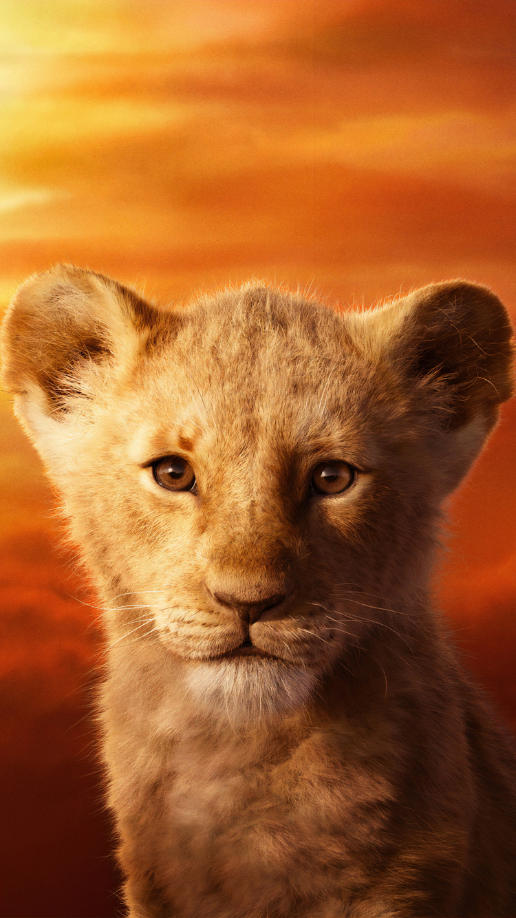 750x1334 Jd Mccrary As Simba The Lion King 2019 4k Iphone 6