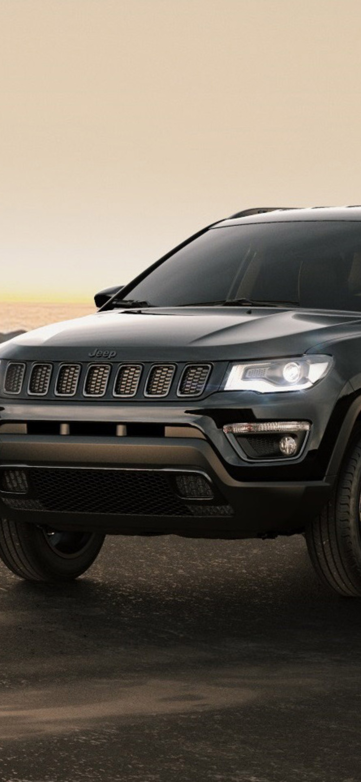 1242x2688 Jeep Compass Night Eagle 2017 Iphone Xs Max Hd 4k