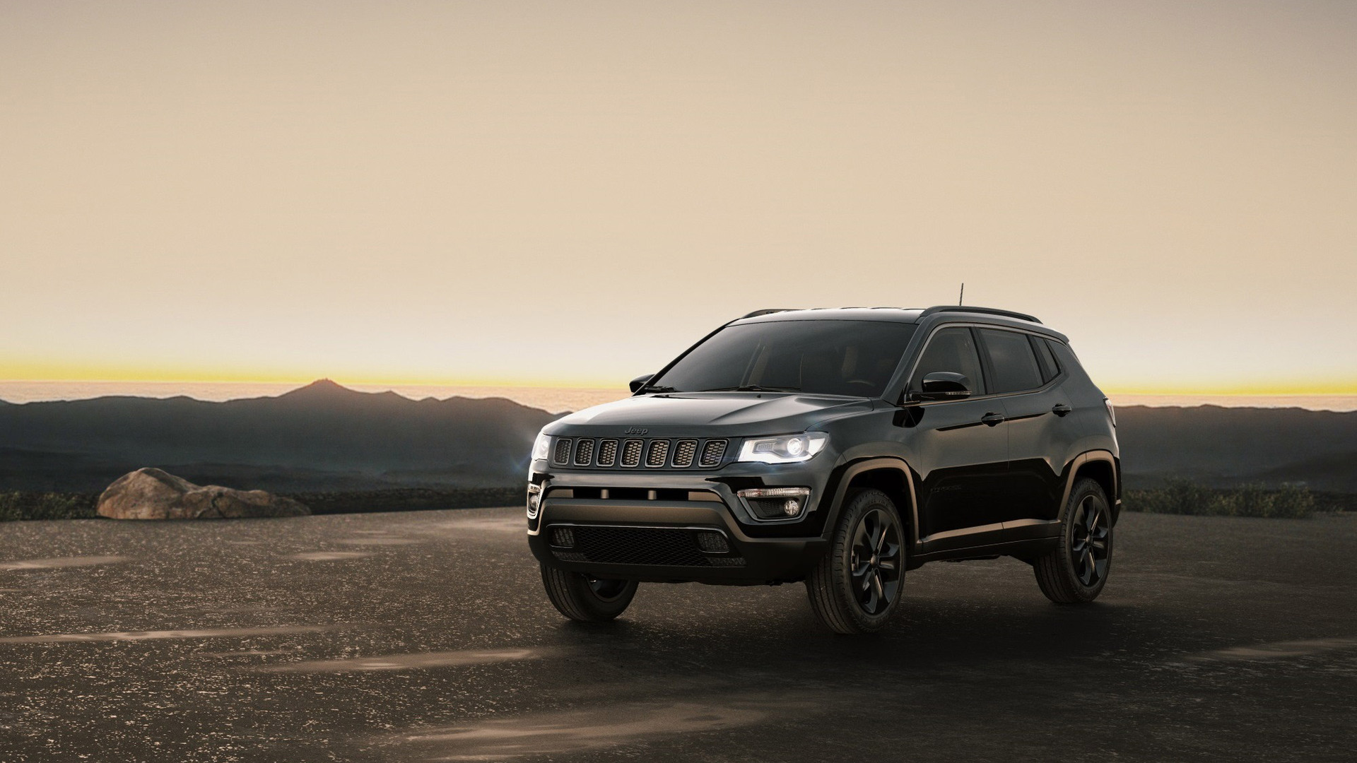 1920x1080 Jeep Compass Night Eagle 2017 Laptop Full HD