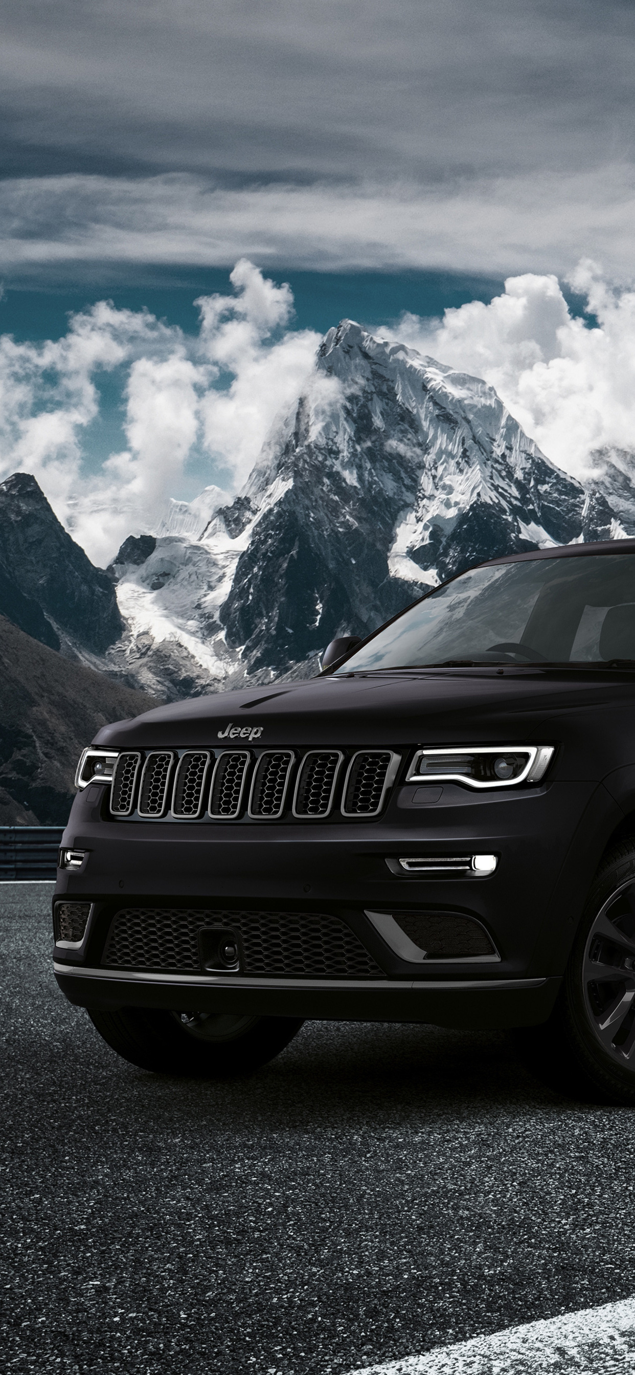 1242x2688 Jeep Grand Cherokee S 2018 Iphone Xs Max Hd 4k