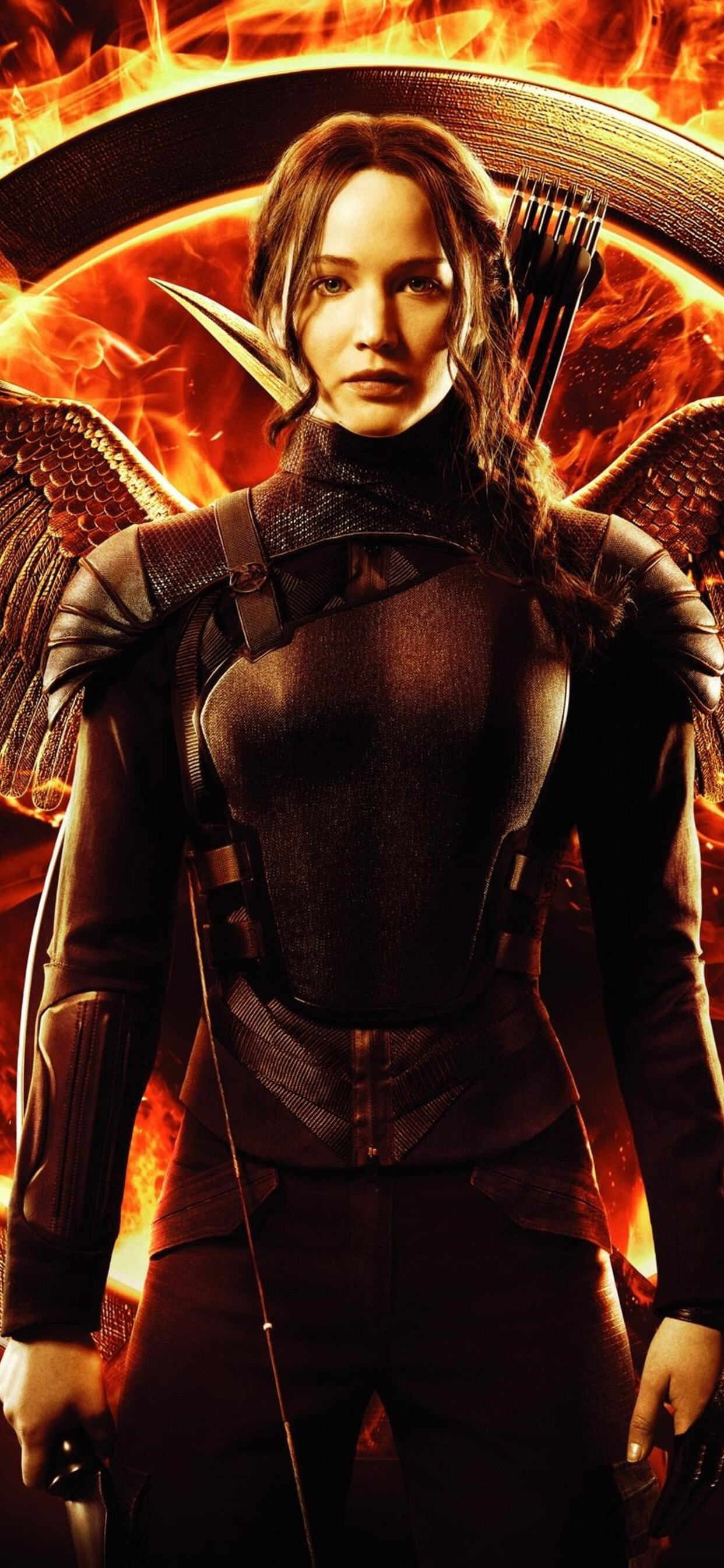 1242x2688 Jennifer Lawrence In Hunger Games Iphone Xs Max Hd