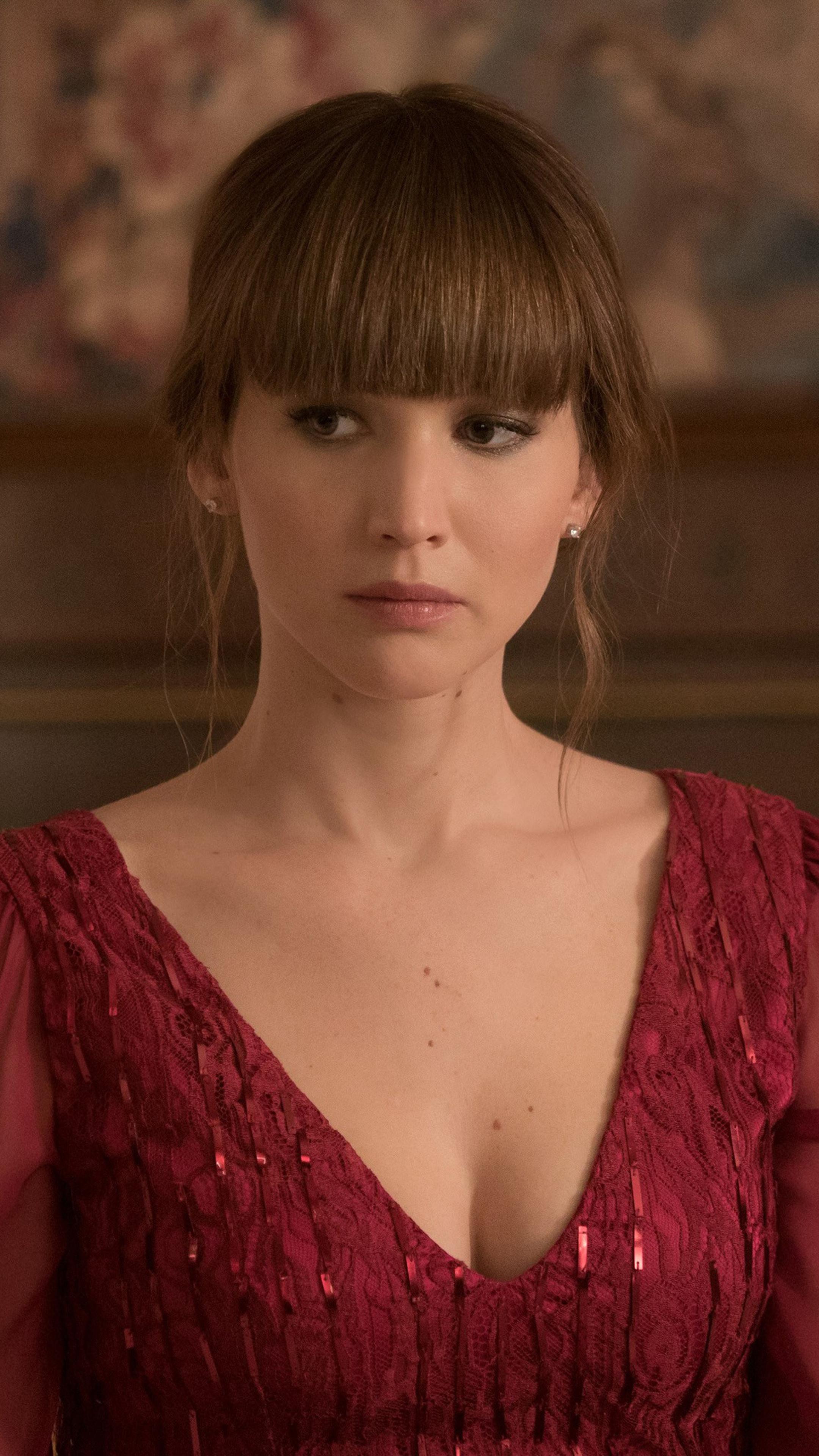 2160x3840 Jennifer Lawrence In Red Sparrow Movie 4k Sony