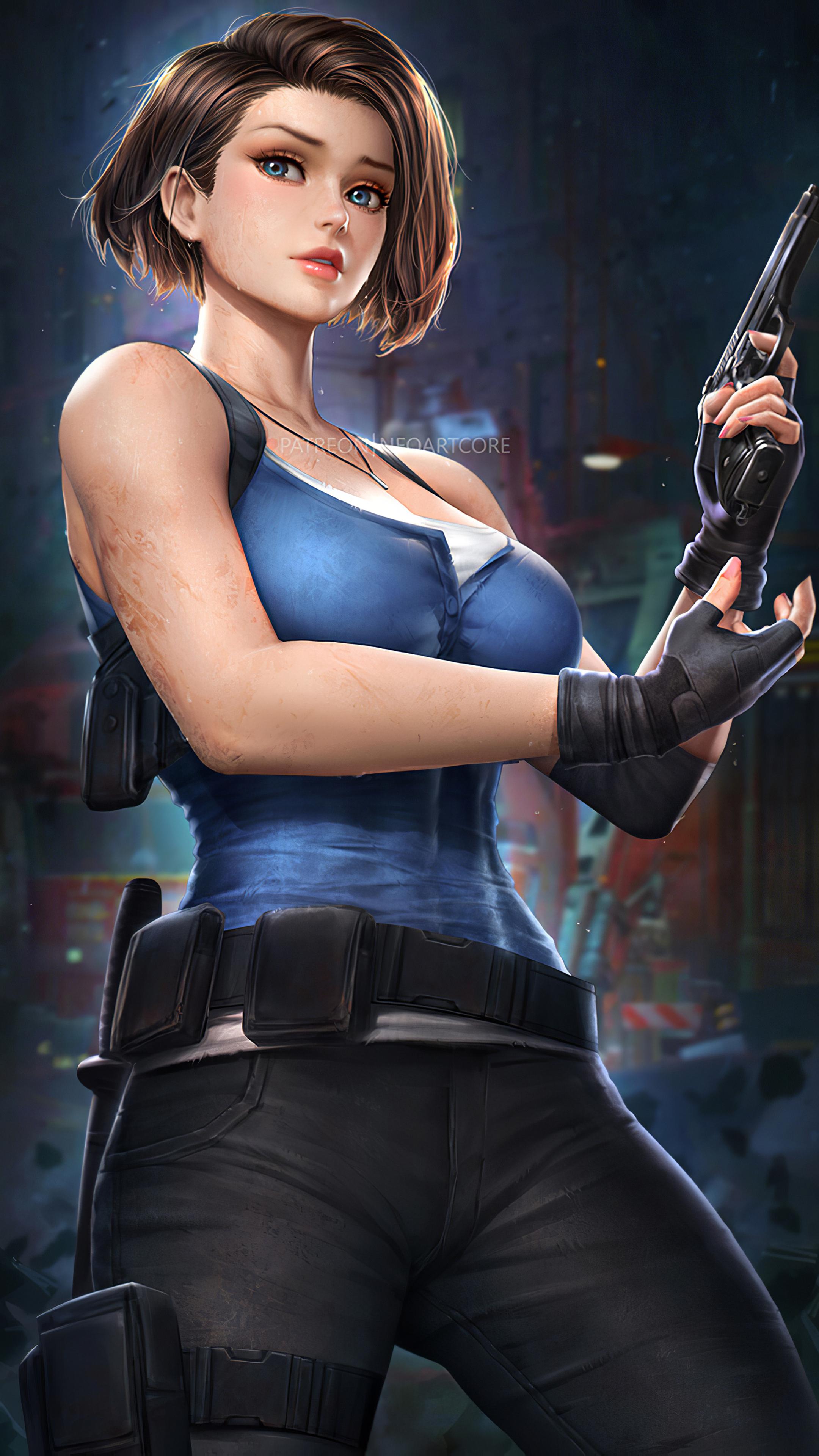2160x3840 Jill Valentine Resident Evil 3 Sony Xperia X,XZ