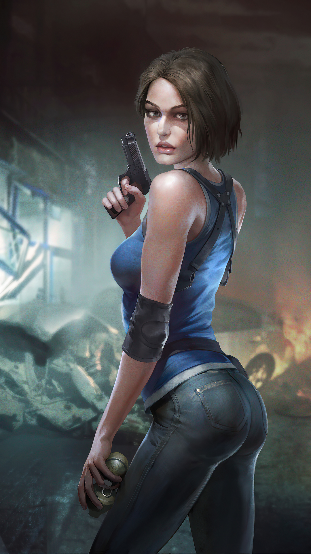 #346507 Jill Valentine, RE3, Resident Evil 3, Remake