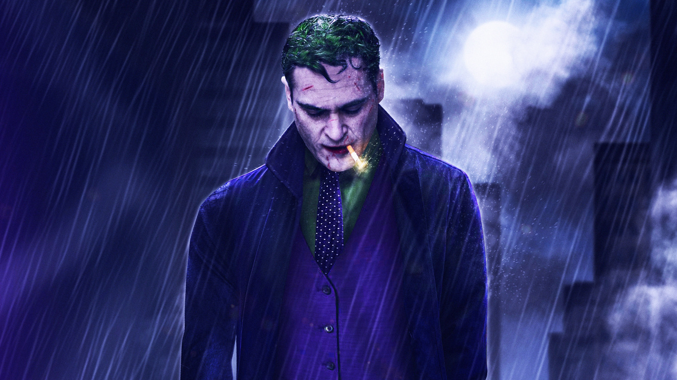 1366x768 Joaquin Phoenix Joker 2019 Movie 5k 1366x768