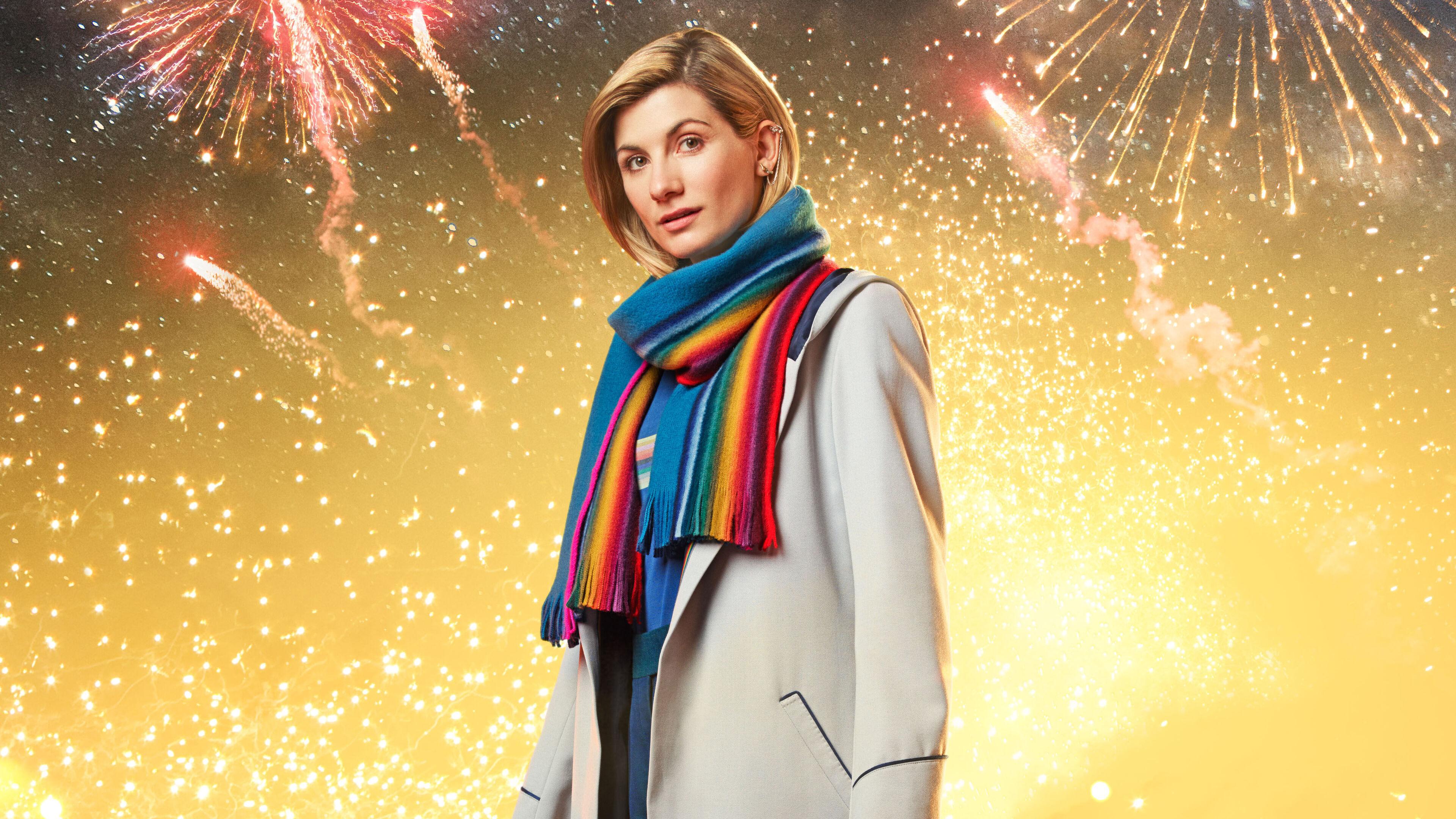 3840x2160 Jodie Whittaker In Doctor Who 4k 4k Hd 4k Wallpapers