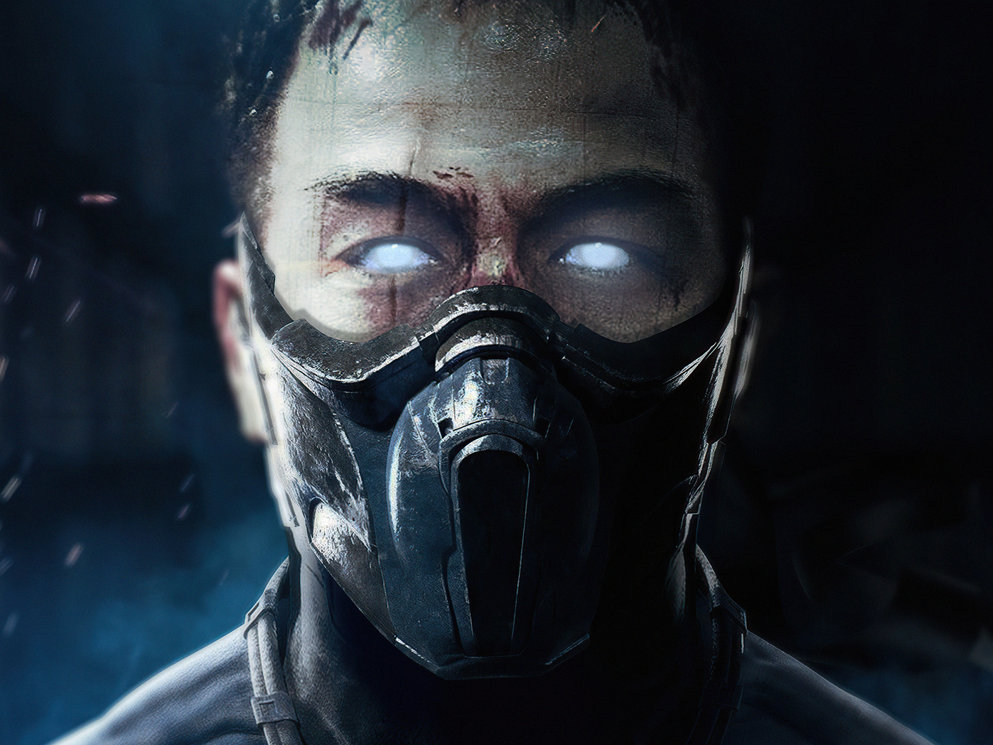 1400x1050 Joe Taslim As Sub Zero Mortal Kombat Movie 4k ...
