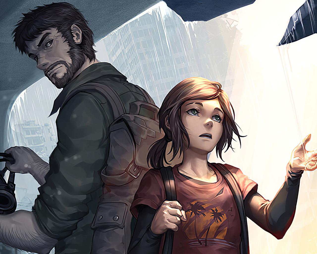 1280x1024 Joel And Ellie The Last Of Us 1280x1024 Resolution Hd 4k