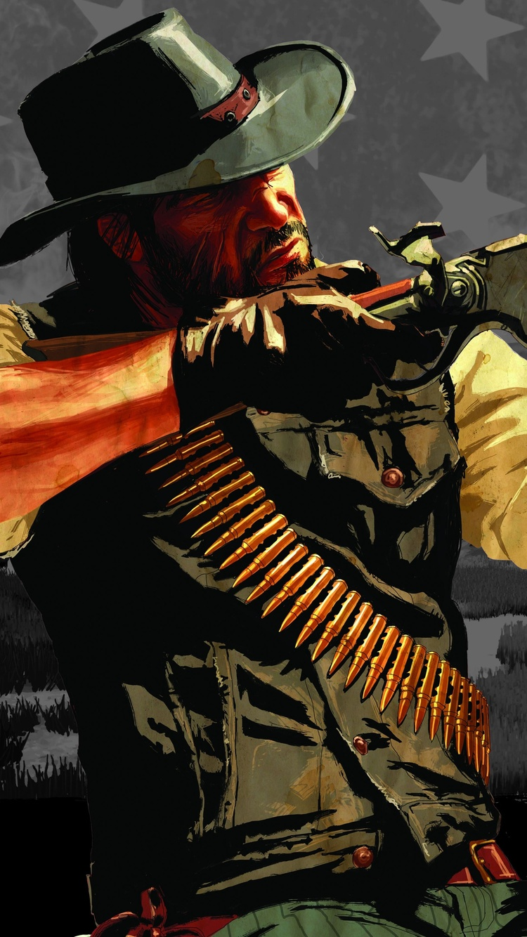 750x1334 John Marston Red Dead Redemption 2 5k Iphone 6