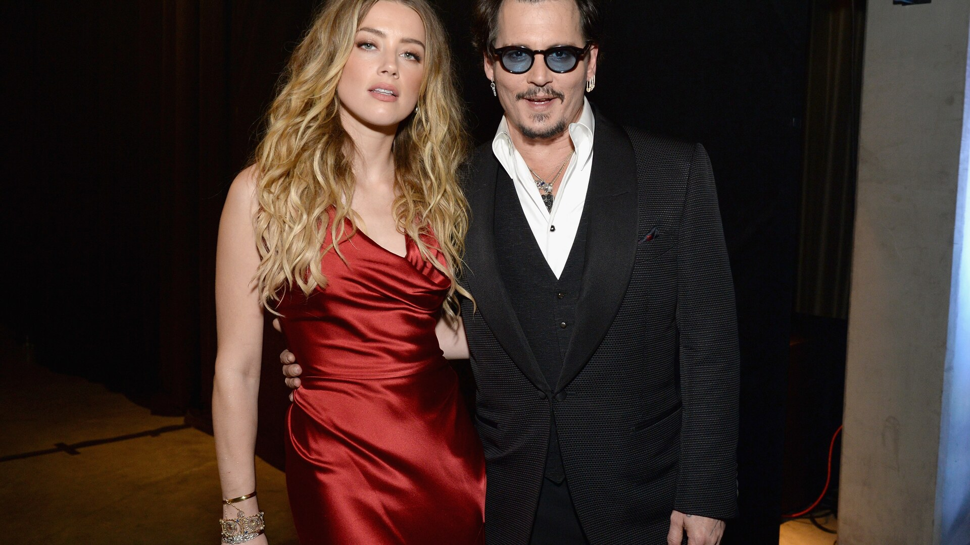 1920x1080 Johnny Depp And Amber Heard Laptop Full Hd 1080p Hd 4k