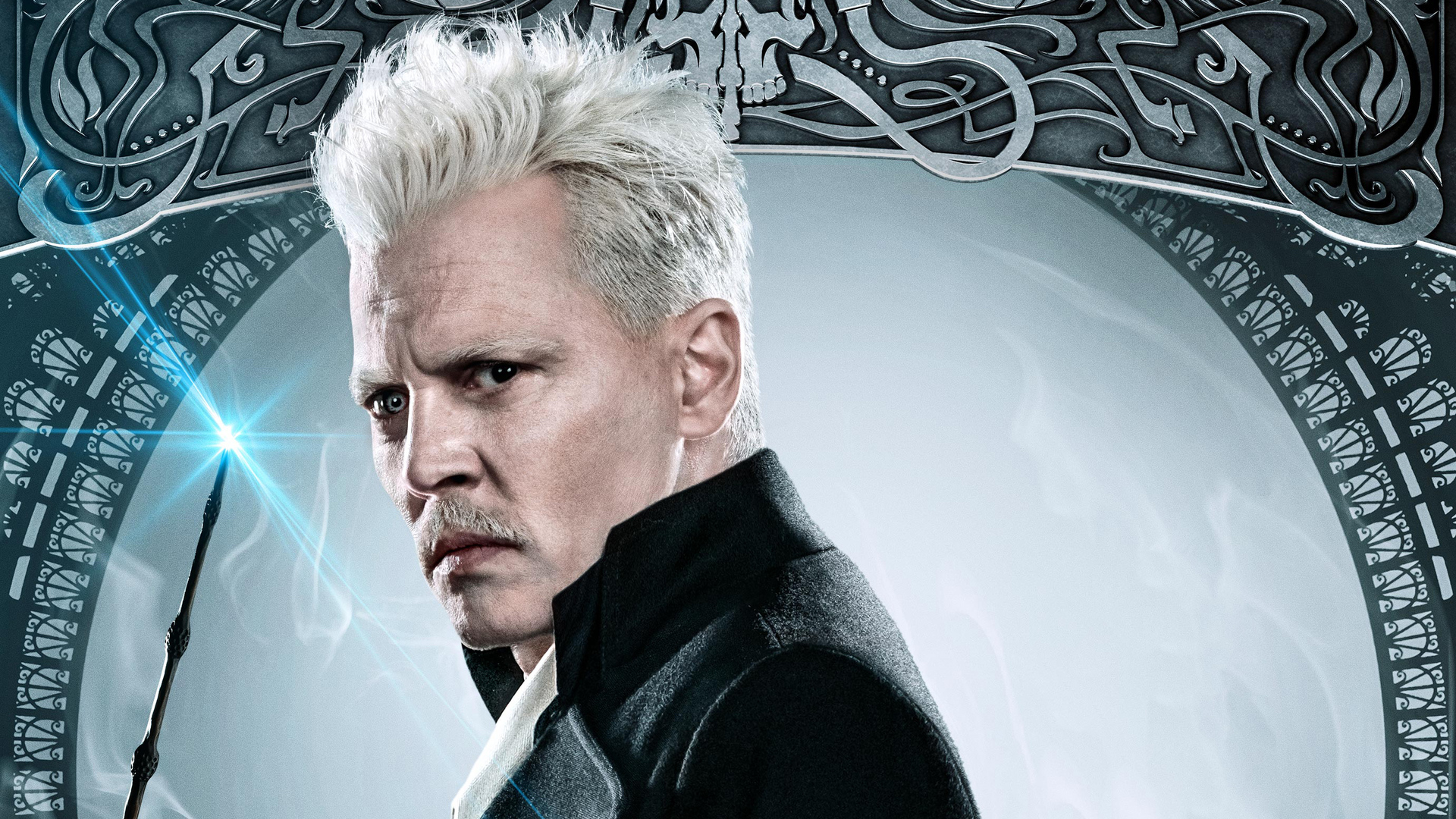 1920x1080 Johnny Depp As Gellert Grindelwald In Fantastic Beasts The