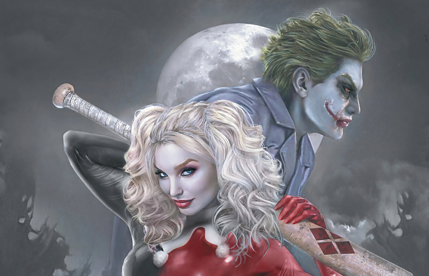 1400x900 Joker And Harley Quinn 4k New 1400x900 Resolution ...