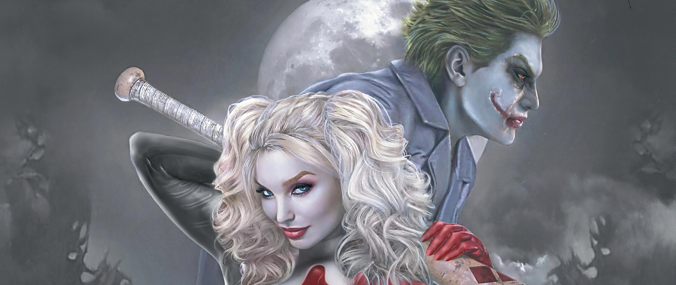 2560x1080 Joker And Harley Quinn 4k New 2560x1080 ...