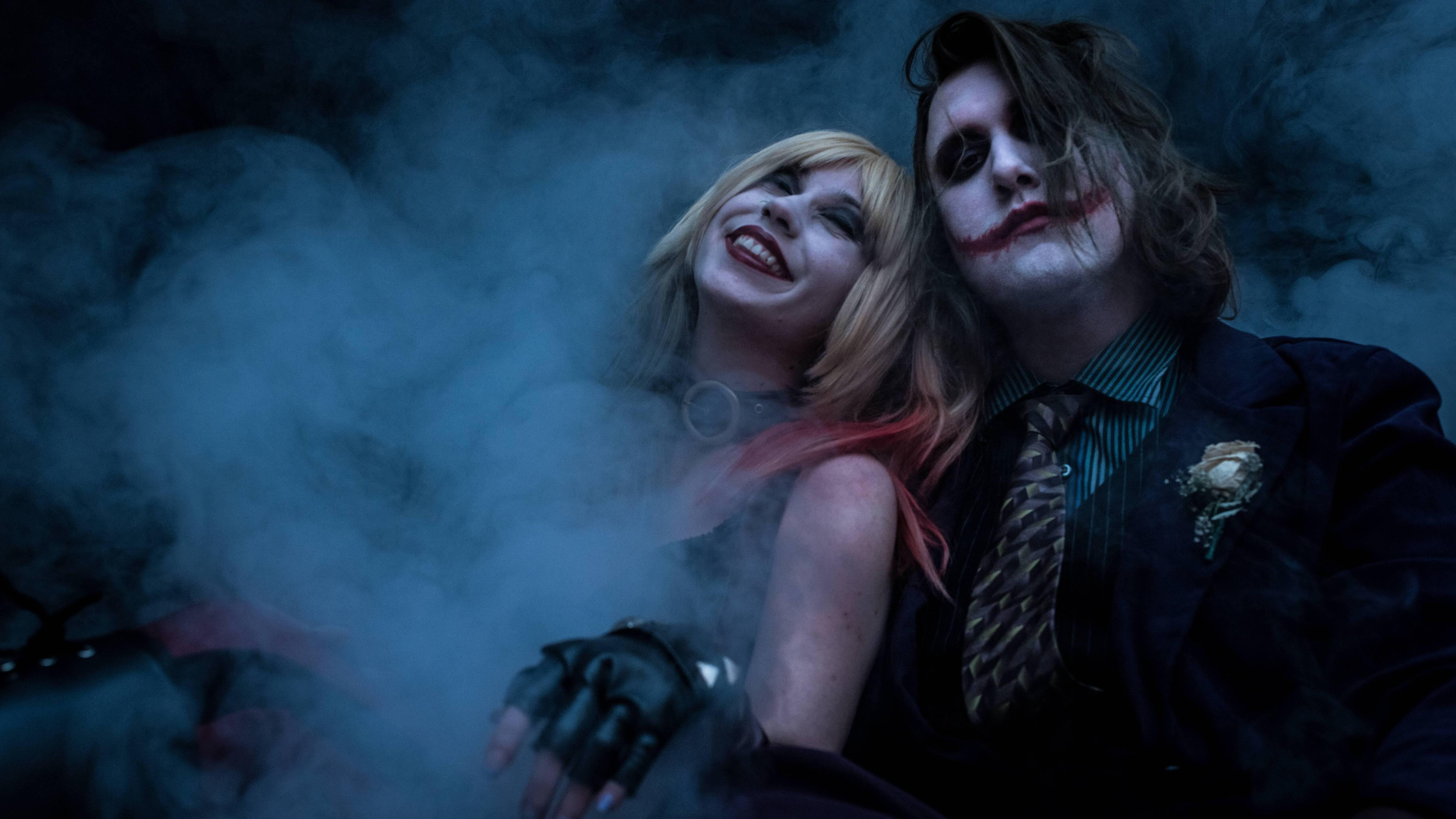 5120x2880 Joker And Harley Quinn 5k Cosplay 5k HD 4k ...
