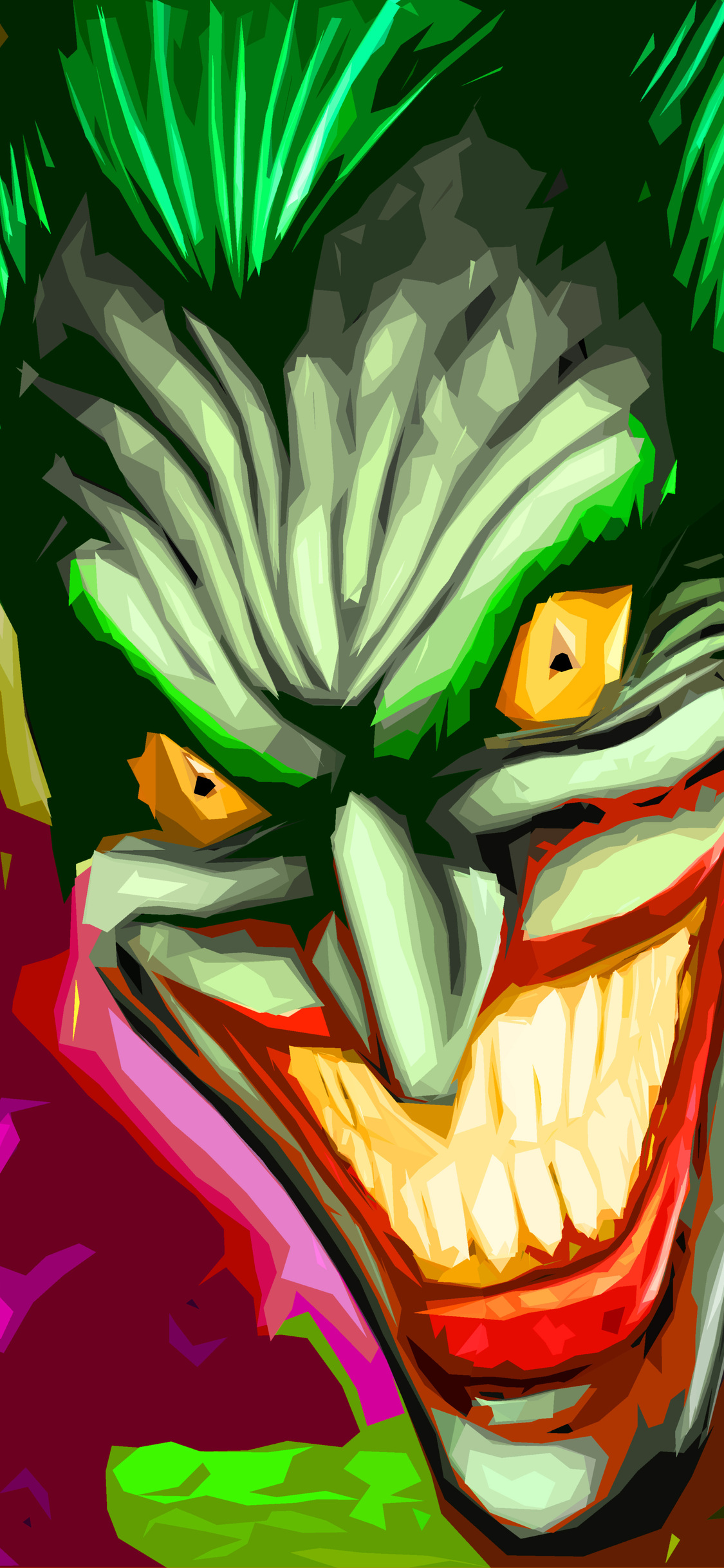 1125x2436 Joker Art 4k Iphone Xs Iphone 10 Iphone X Hd 4k