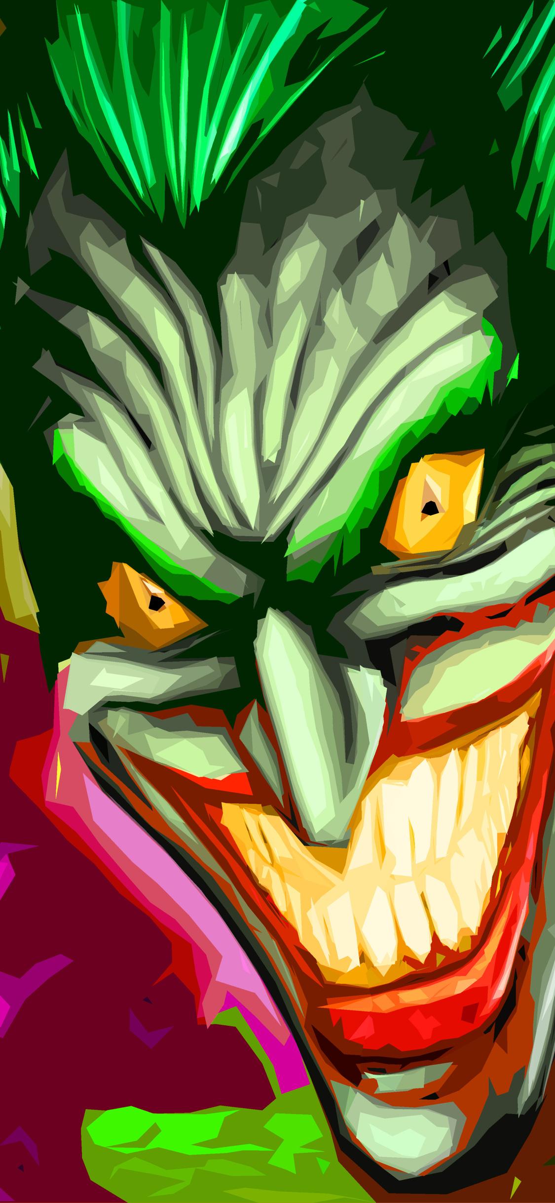 1125x2436 Joker Art 4k Iphone Xsiphone 10iphone X Hd 4k Wallpapers
