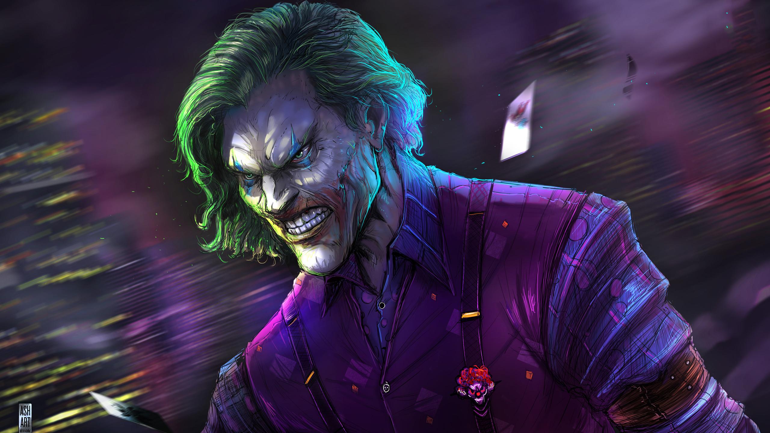 2560x1440 Joker Artwork 4k 2019 1440p Resolution Hd 4k