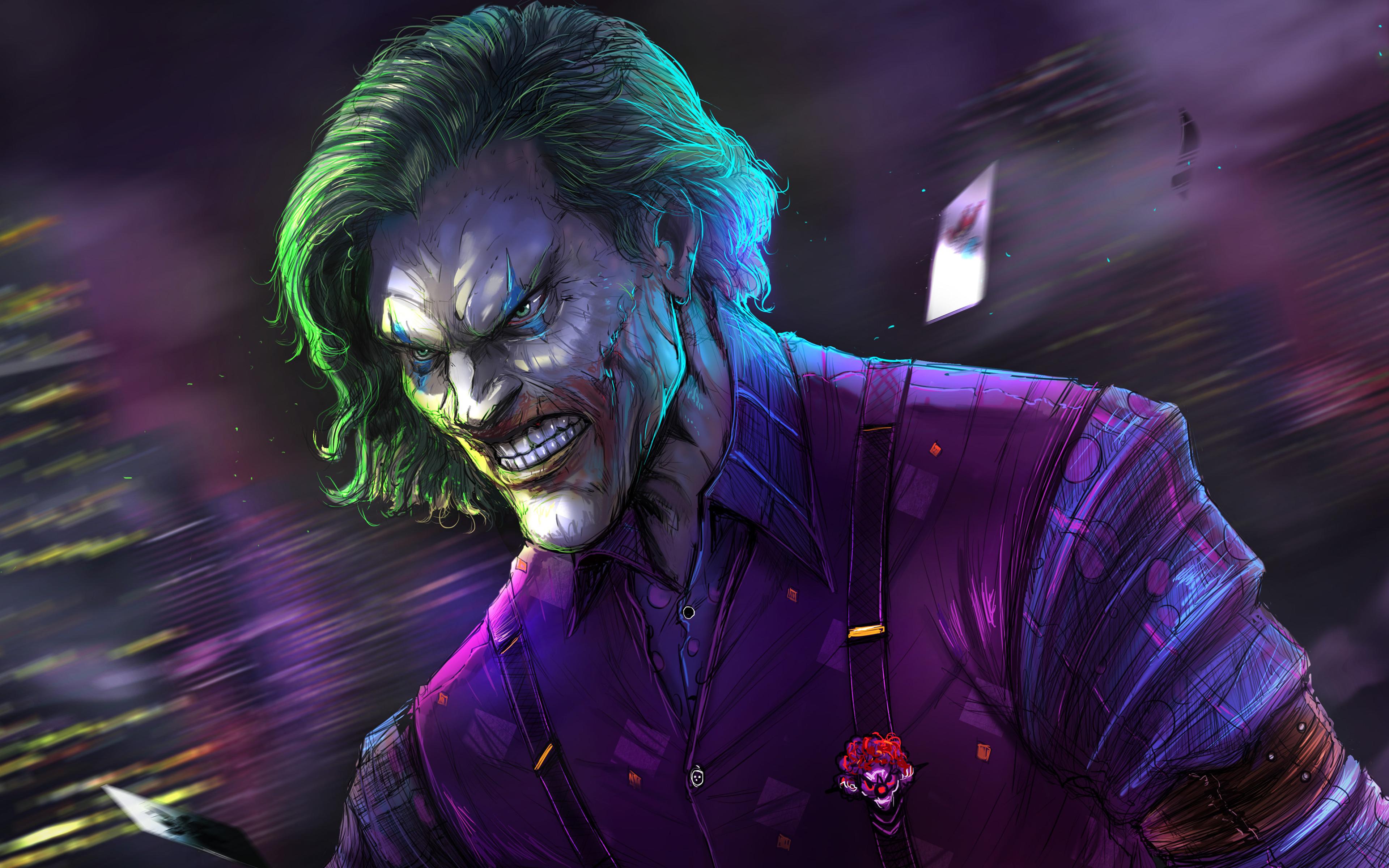 3840x2400 Joker Artwork 4k 2019 4k HD 4k Wallpapers ...