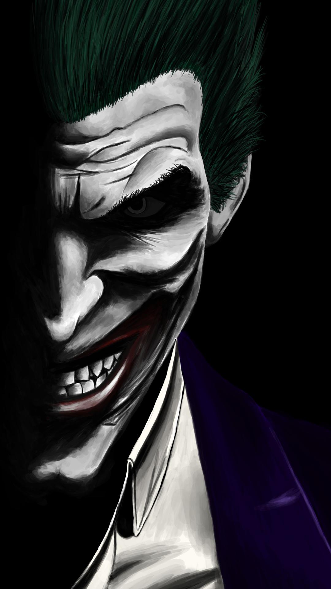 1080x1920 Joker Artwork 5k Iphone 7 6s 6 Plus Pixel Xl One