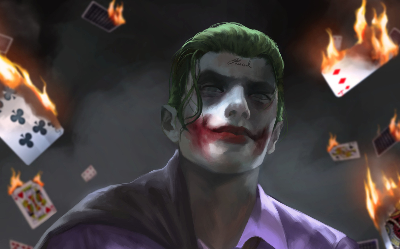 Top Wallpaper Macbook Joker - joker-artwork-hd-vd-2880x1800  Pic_717782.jpg