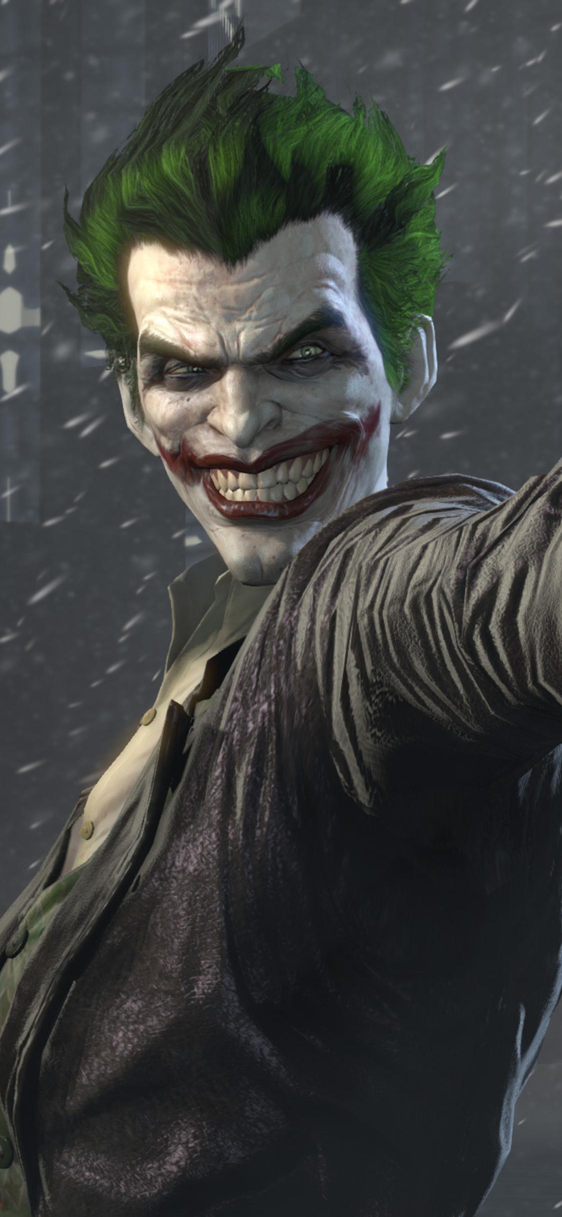 1125x2436 Joker Batman Arkham Origins Iphone Xs Iphone 10 Iphone X