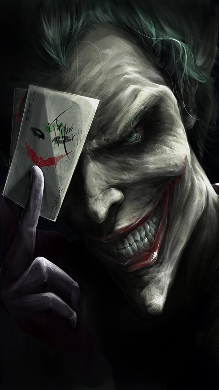 750x1334 Joker Card Trump Iphone 6 Iphone 6s Iphone 7 Hd