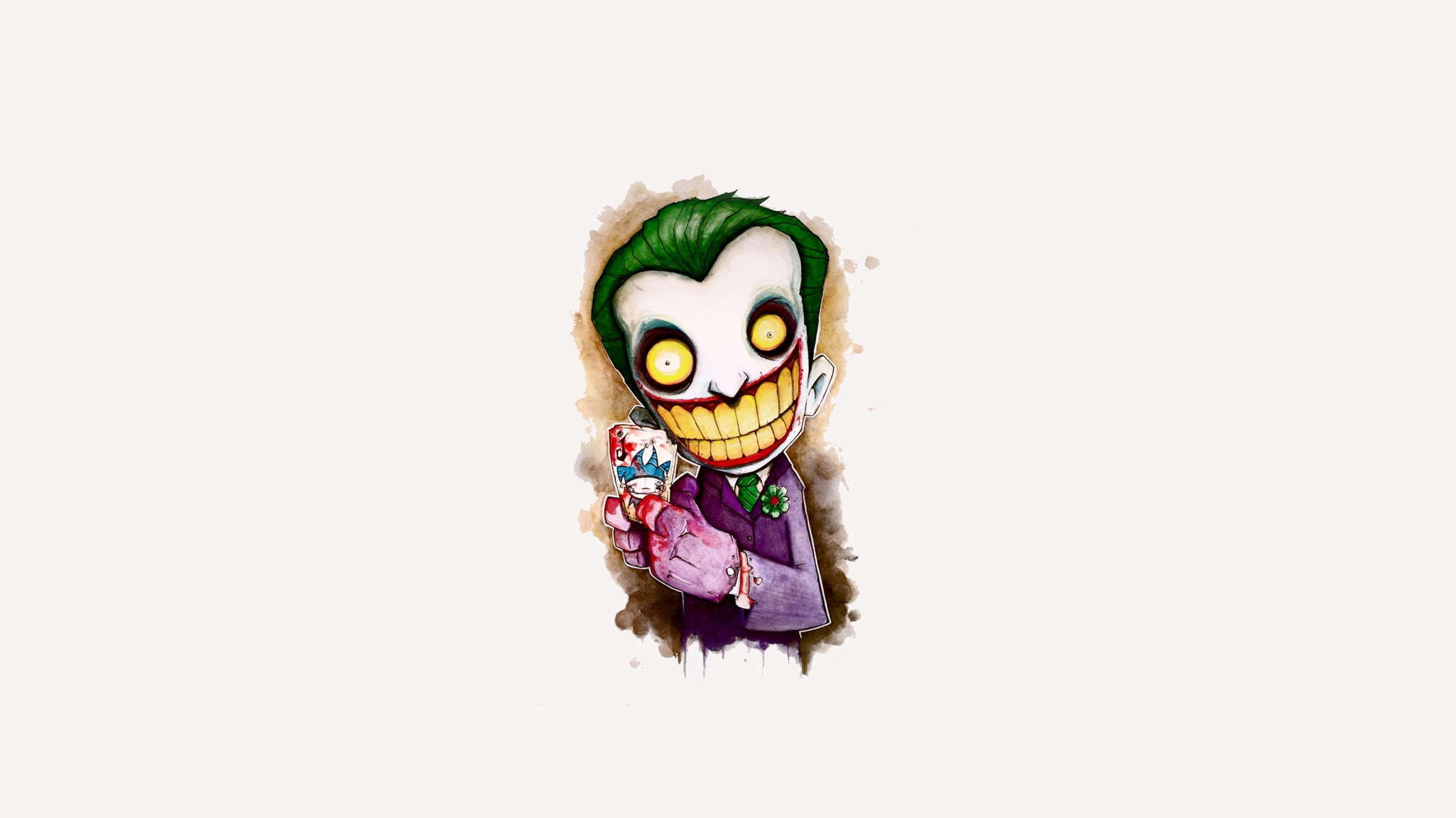 2048x1152 Joker Cartoon 4k Artwork 2048x1152 Resolution Hd 4k