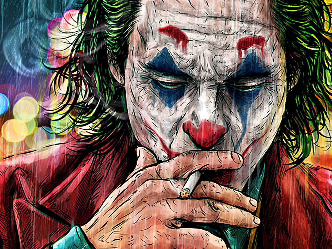 1152x864 Joker Cigratte Smoking Artwork 1152x864 ...